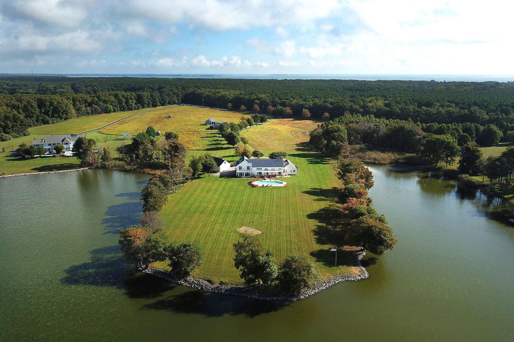 Single Family Homes voor Verkoop op Stevensville, Maryland 21666 Verenigde Staten