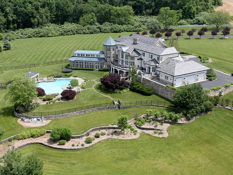 Single Family Homes vì Bán tại Offers Ideal Setting For Country Estate 131 Harbourton Woodsville Road, Lambertville, New Jersey 08530 Hoa Kỳ