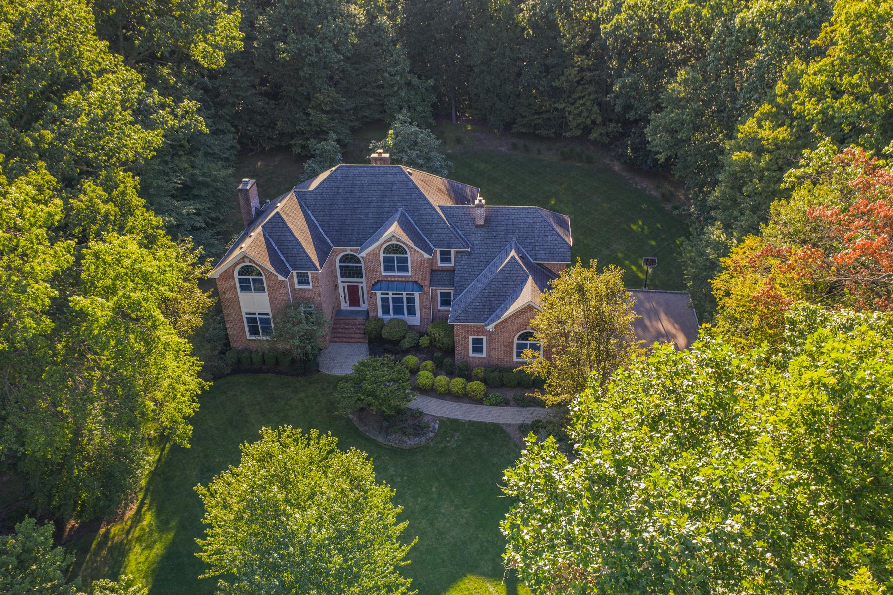 Single Family Homes voor Verkoop op Gracious Colonial at Seven Oaks 7 Compton Way, Bridgewater, New Jersey 08807 Verenigde Staten