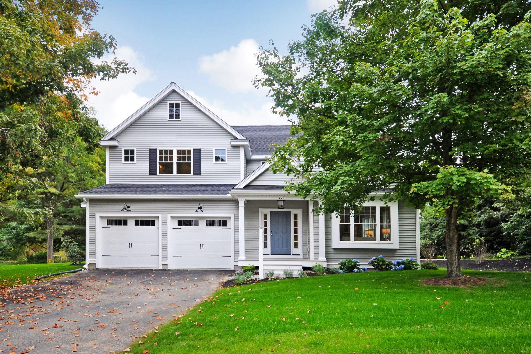 Single Family Homes por un Venta en 174 Wright Road Concord, Massachusetts 01742 Estados Unidos