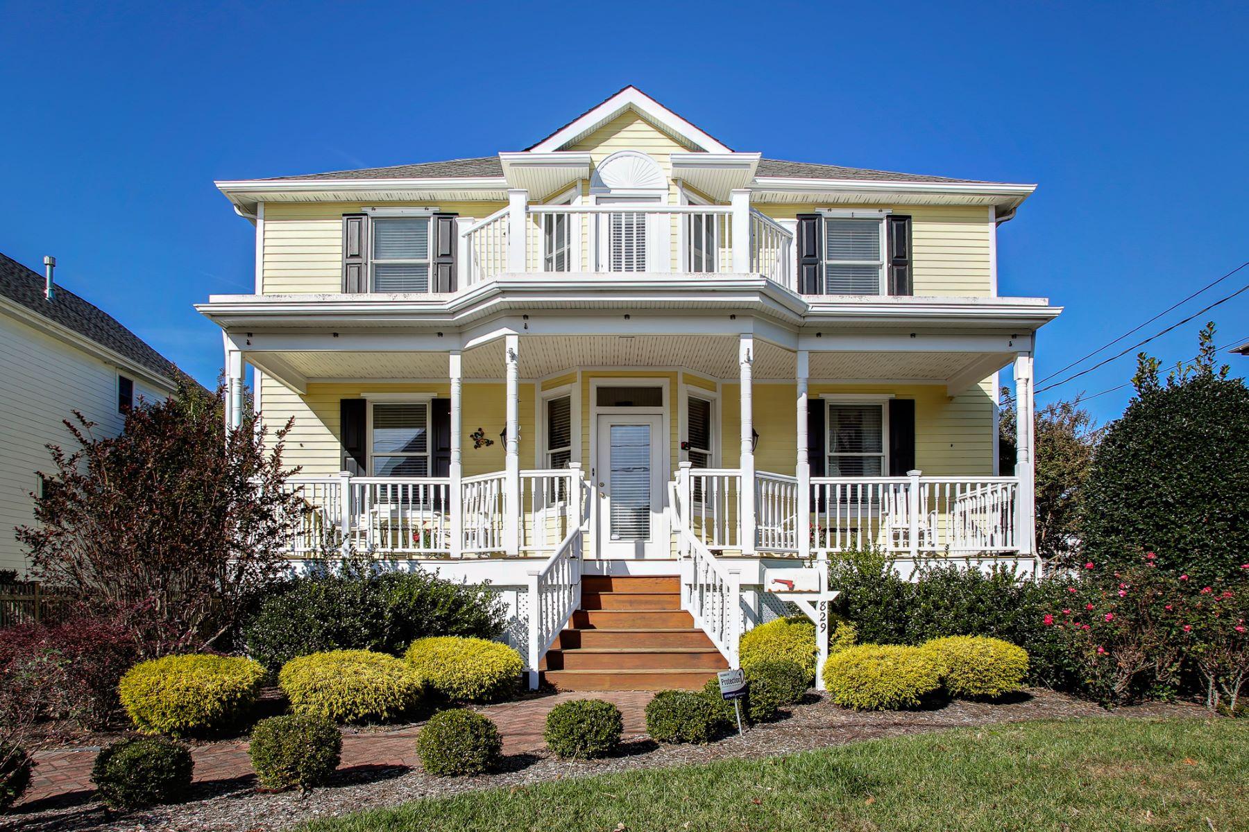 Single Family Homes vì Bán tại 829 Kearney Avenue Cape May, New Jersey Cape May, New Jersey 08204 Hoa Kỳ