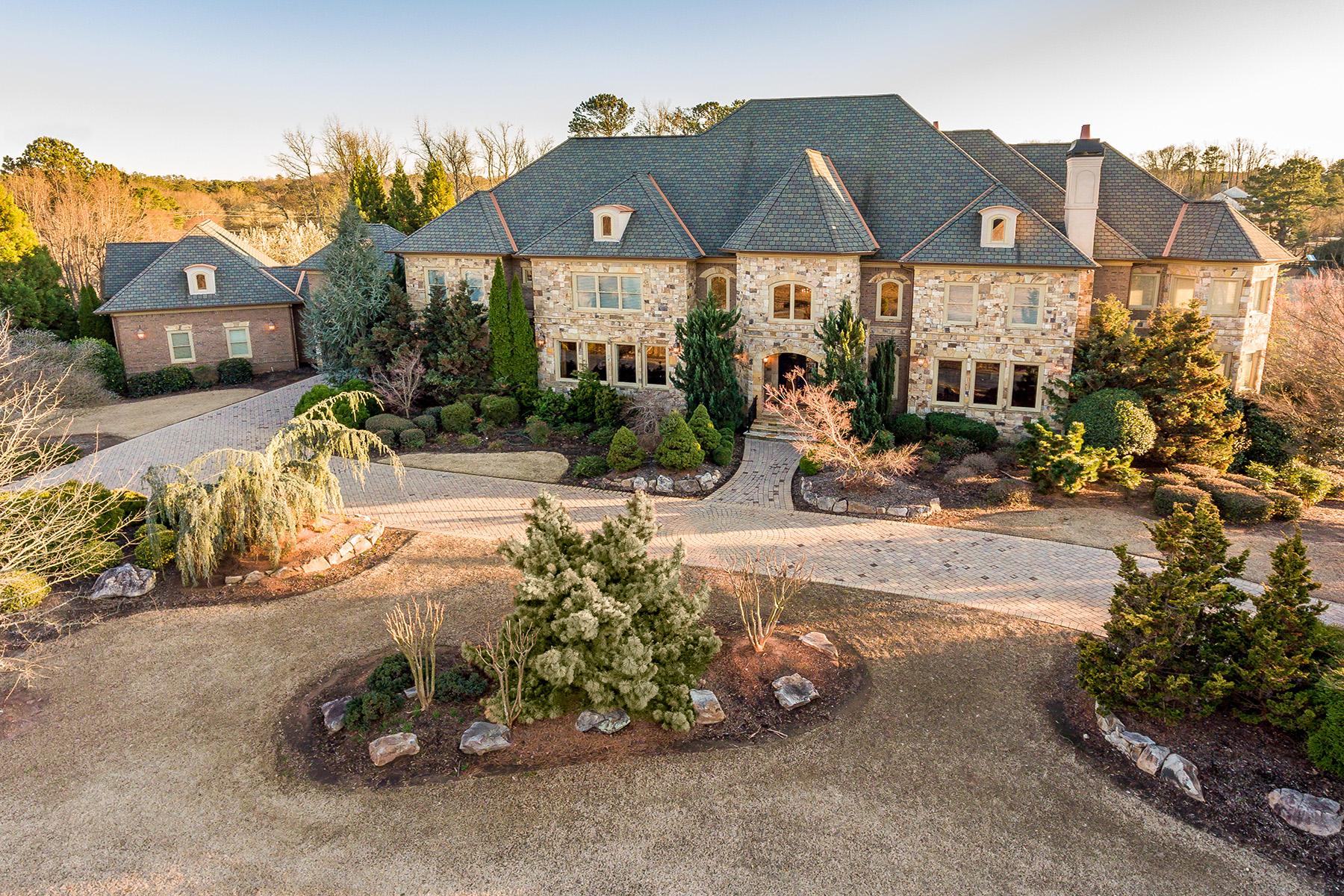 Single Family Homes por un Venta en Grand Estates Manor 320 King Estates Drive, Roswell, Georgia 30075 Estados Unidos