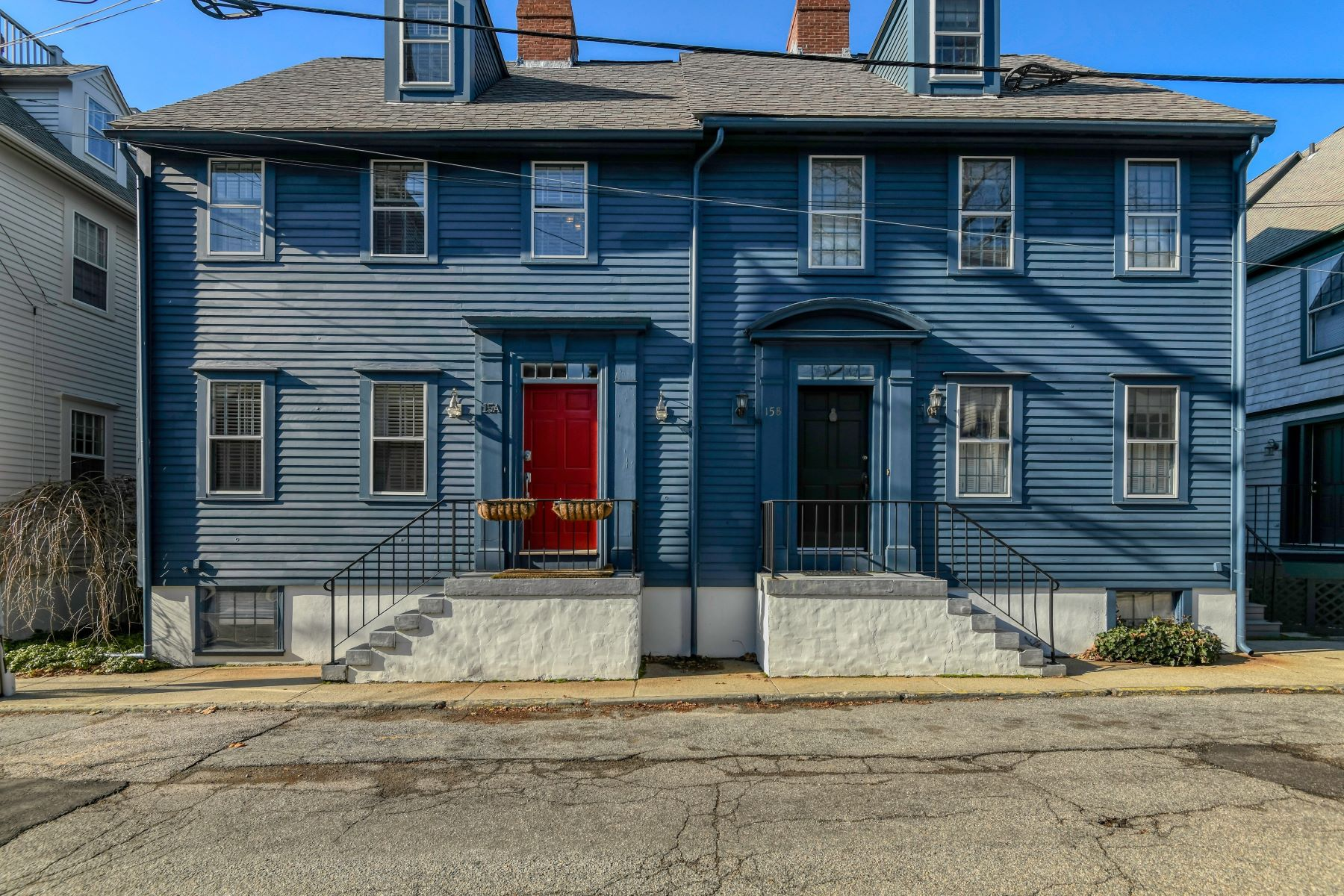 Condominiums for Sale at Historic Hill Townhouse 15A Corne Street Newport, Rhode Island 02840 United States