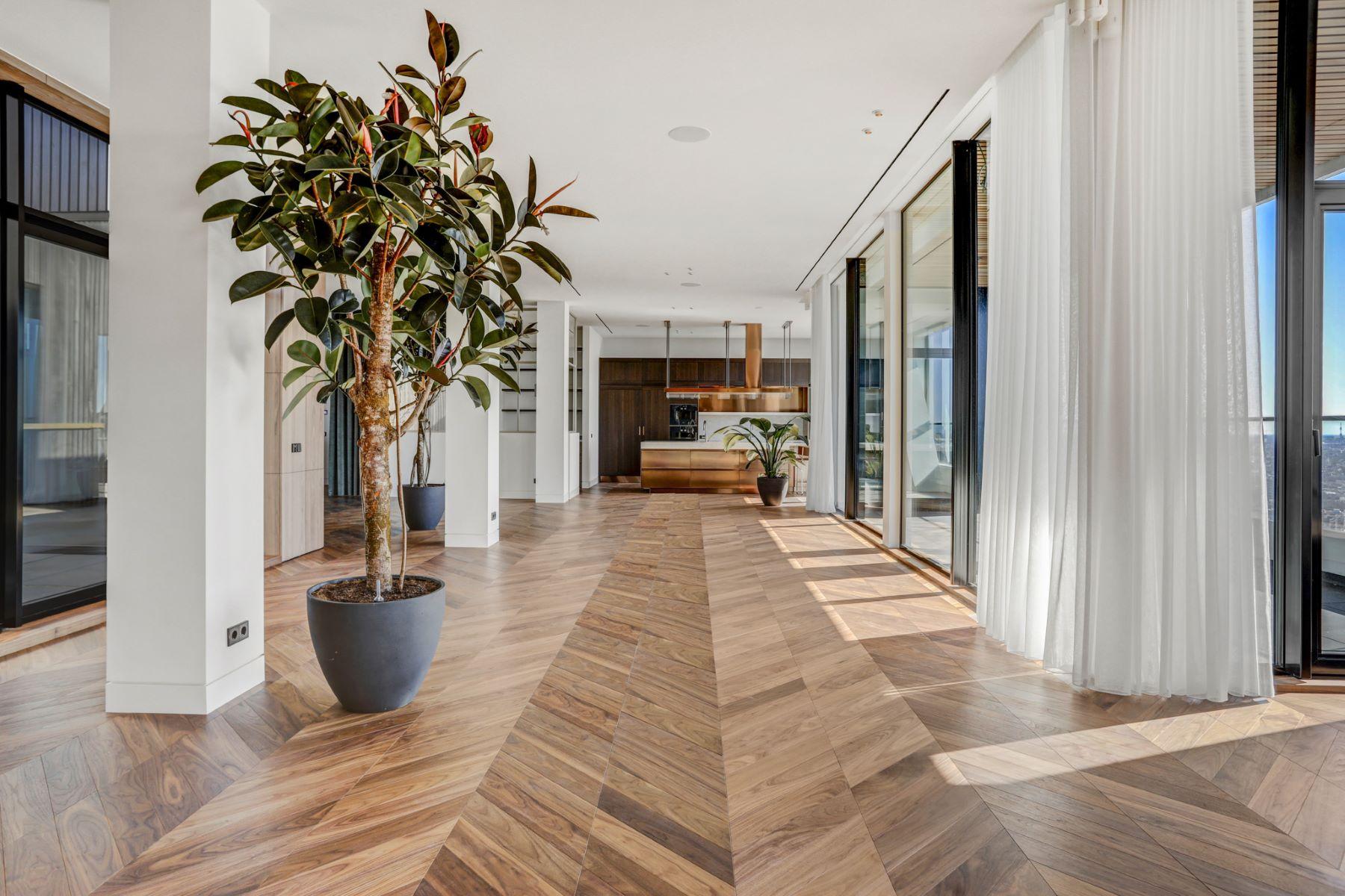 Apartments для того Продажа на Spectacular penthouse in Amsterdam's iconic Pontsteiger Pontsteiger 168 Амстердам, North Holland 1014 ZP Нидерланды