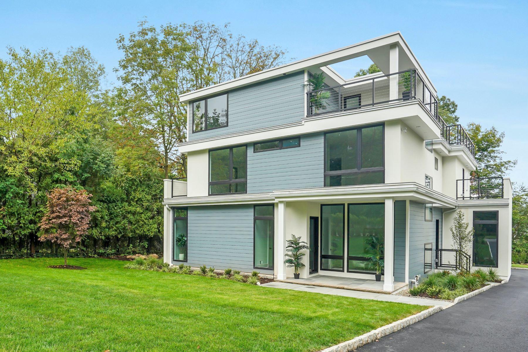 Single Family Homes 为 销售 在 Modern Magnificence 261 White Oak Ridge Road, 肖特山, 新泽西州 07078 美国