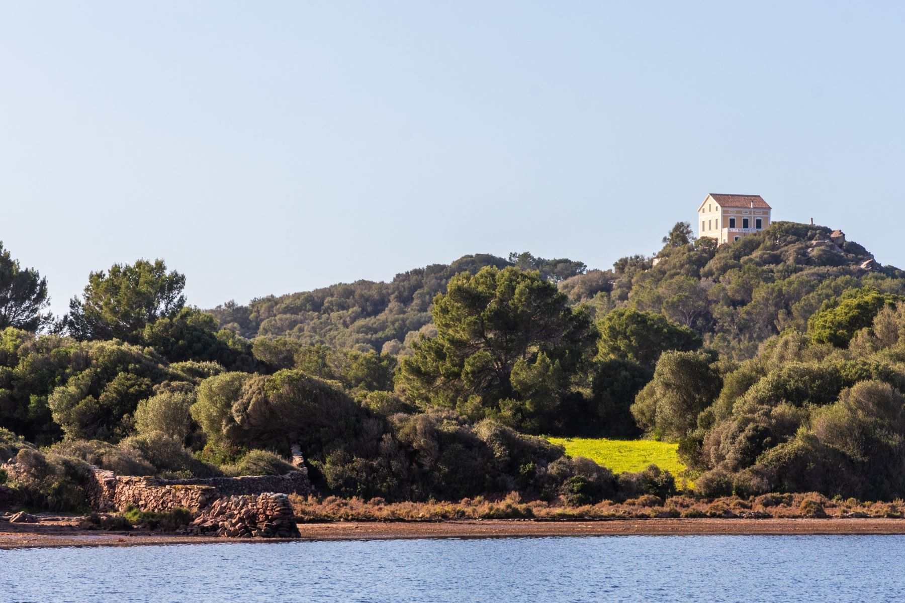 Single Family Homes for Sale at Stately finca with panoramic views and private sea access Menorca, Menorca Spain