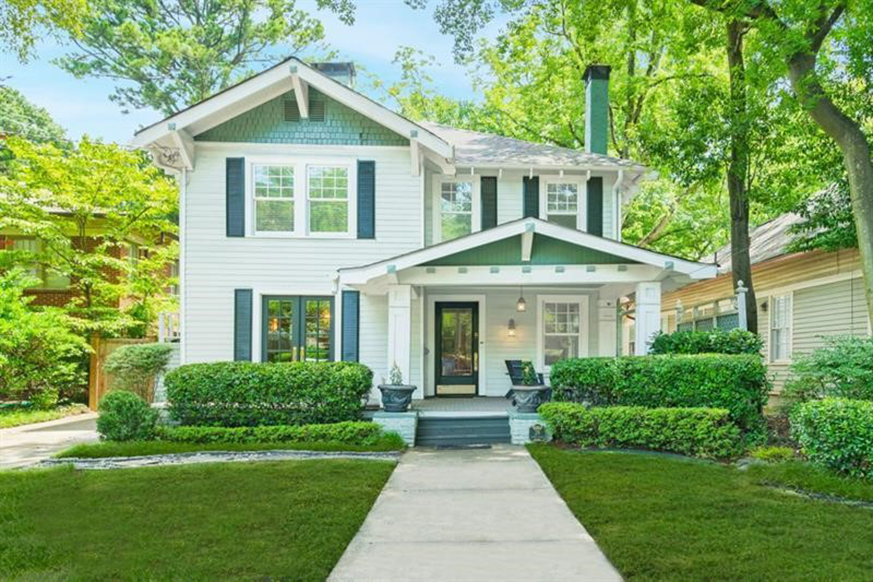 Single Family Homes för Försäljning vid Ansley Park Gem Featuring A Stellar Kitchen Renovation 29 Avery Drive NE Atlanta, Georgien 30309 Förenta staterna