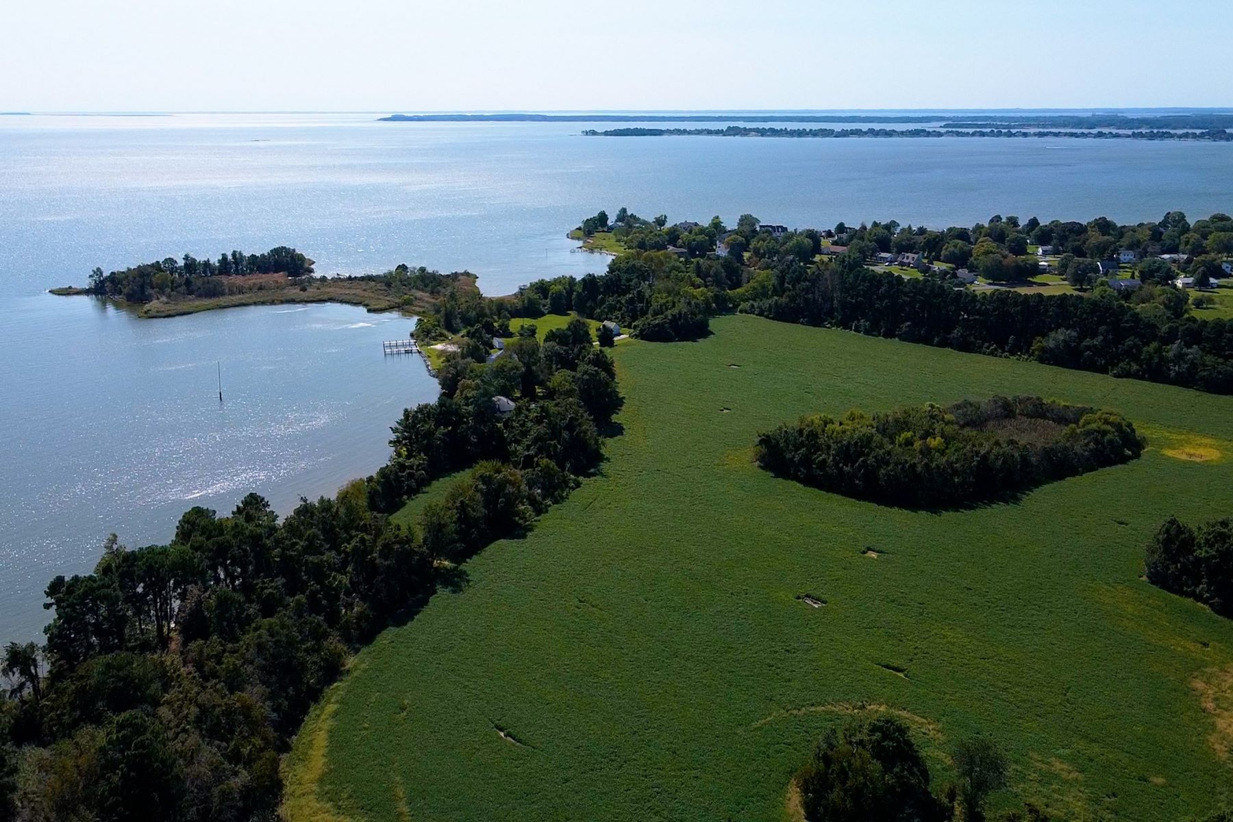 Land for Sale at Eastern Bay Waterfront Acreage in Chester, Maryland 2012 Chester Road, Chester, Maryland 21619 United States