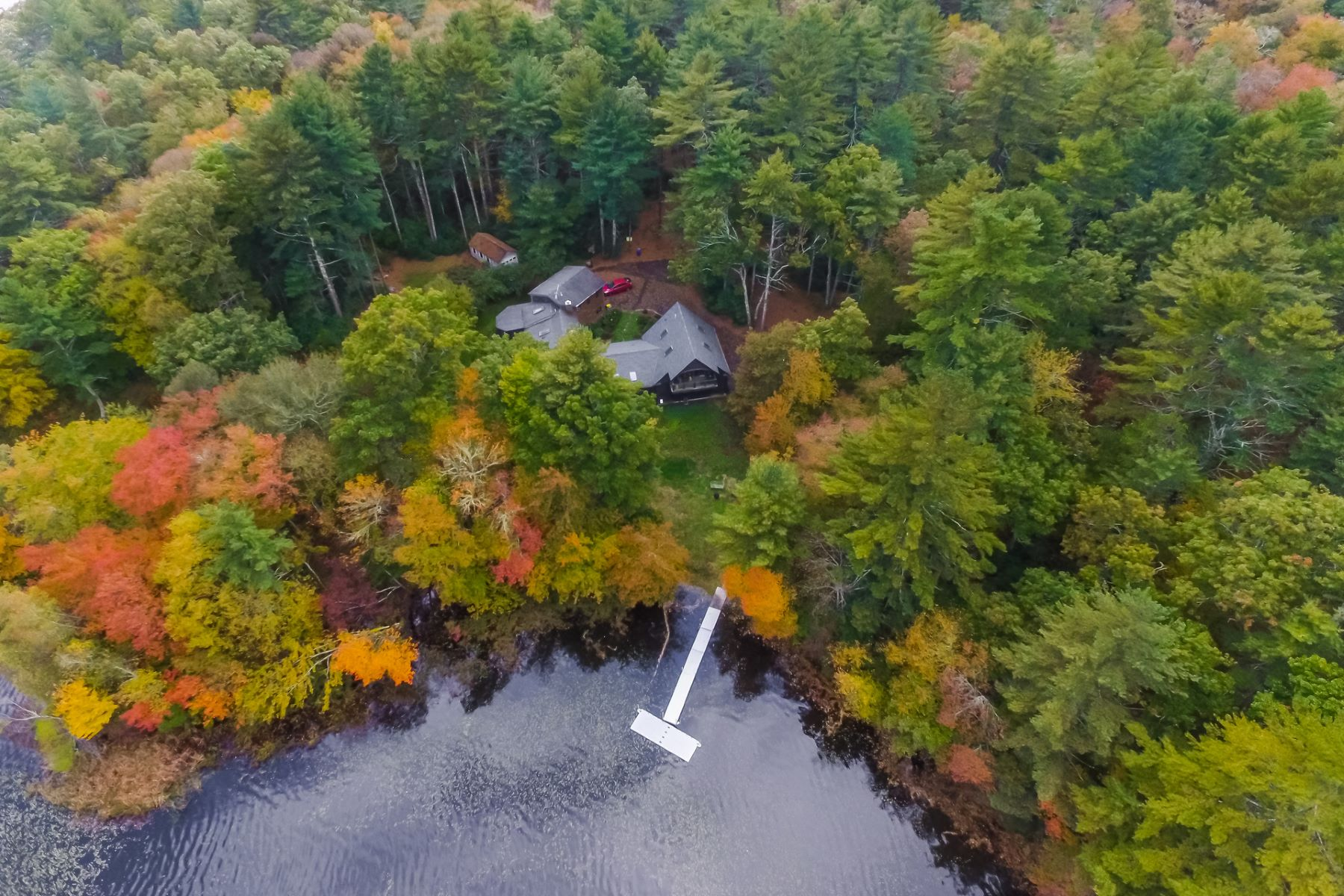 Single Family Homes for Sale at Eleven+ Acres on Yawgoo Pond 289 B Yawgoo Pond Road South Kingstown, Rhode Island 02892 United States