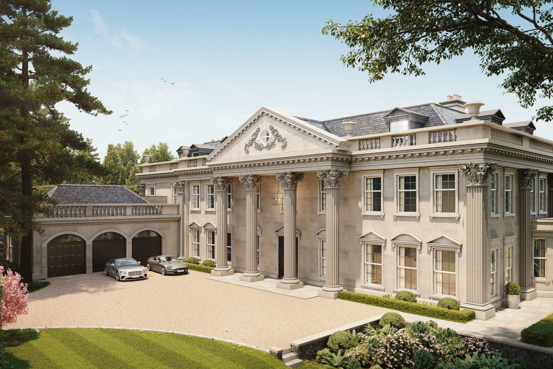 Single Family Homes pour l Vente à Hampton Hall Queens Drive Other England, Angleterre KT22 0PB Royaume-Uni