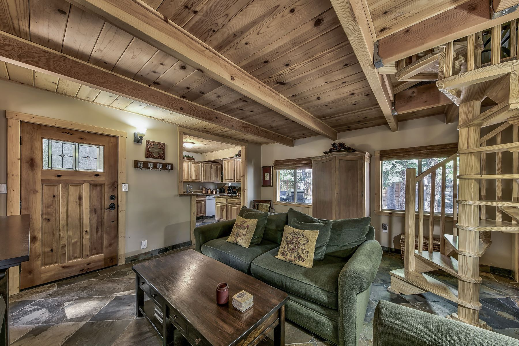 Additional photo for property listing at Darling Old Tahoe Cabin 7246 6th Avenue Tahoma, California 96142 United States