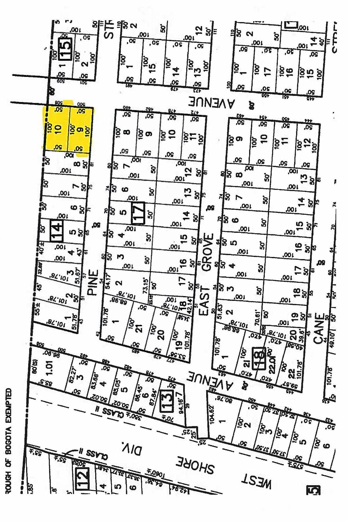 أراضي للـ Sale في Flat Property 500 Palisade Ave, Bogota, New Jersey 07603 United States