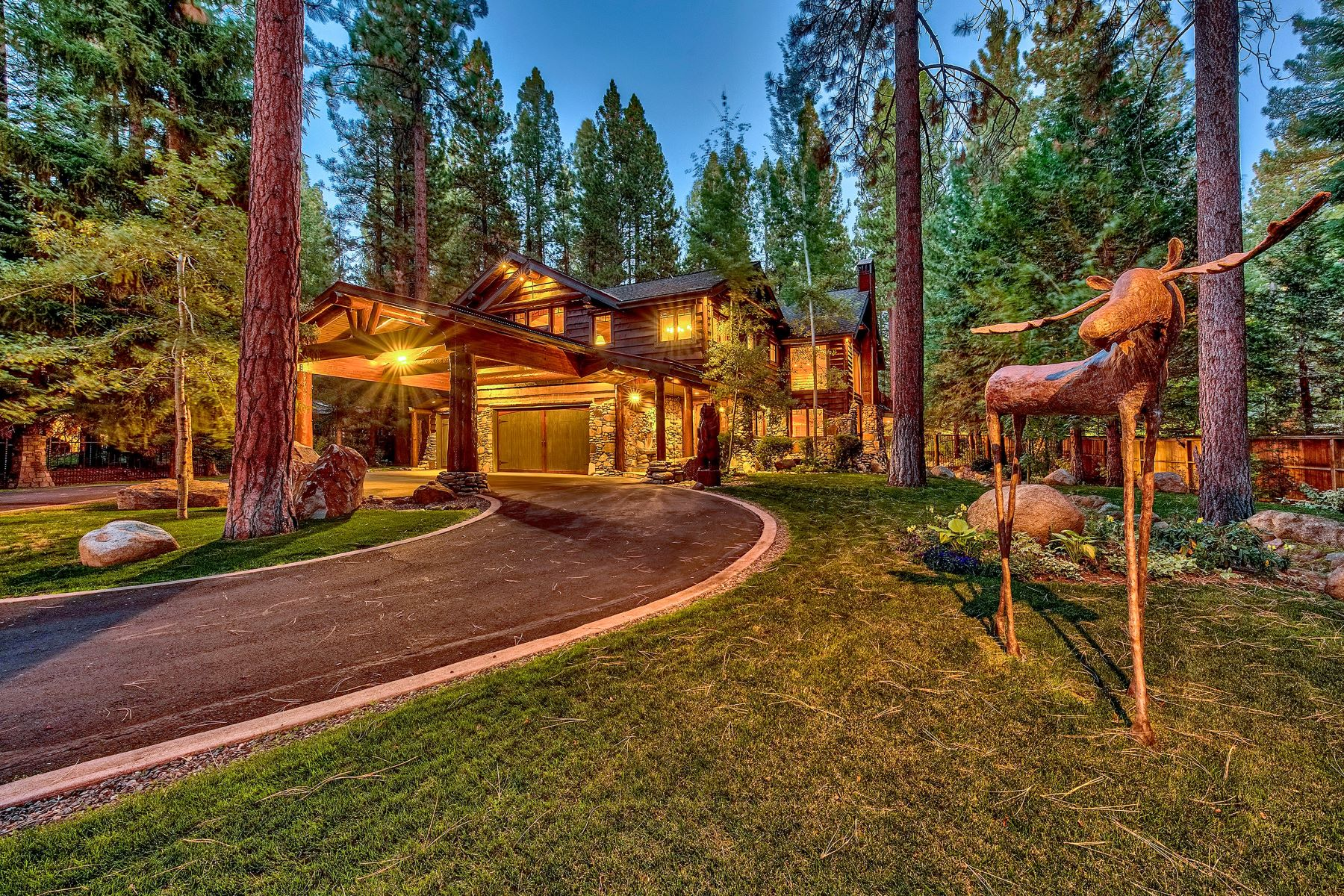 Single Family Homes for Active at Magnificent Tahoe Mountain Lodge 1088 Lakeshore Blvd Incline Village, Nevada 89451 United States