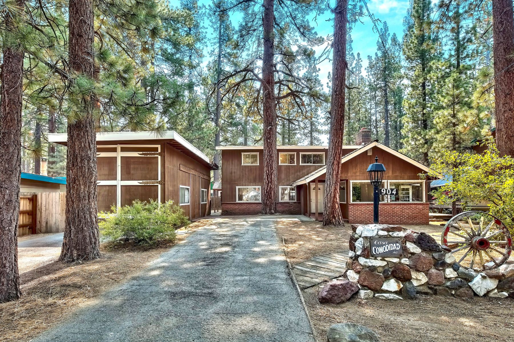 Multi-Family Homes for Active at Al Tahoe Duplex 904 San Francisco Avenue South Lake Tahoe, California 96150 United States