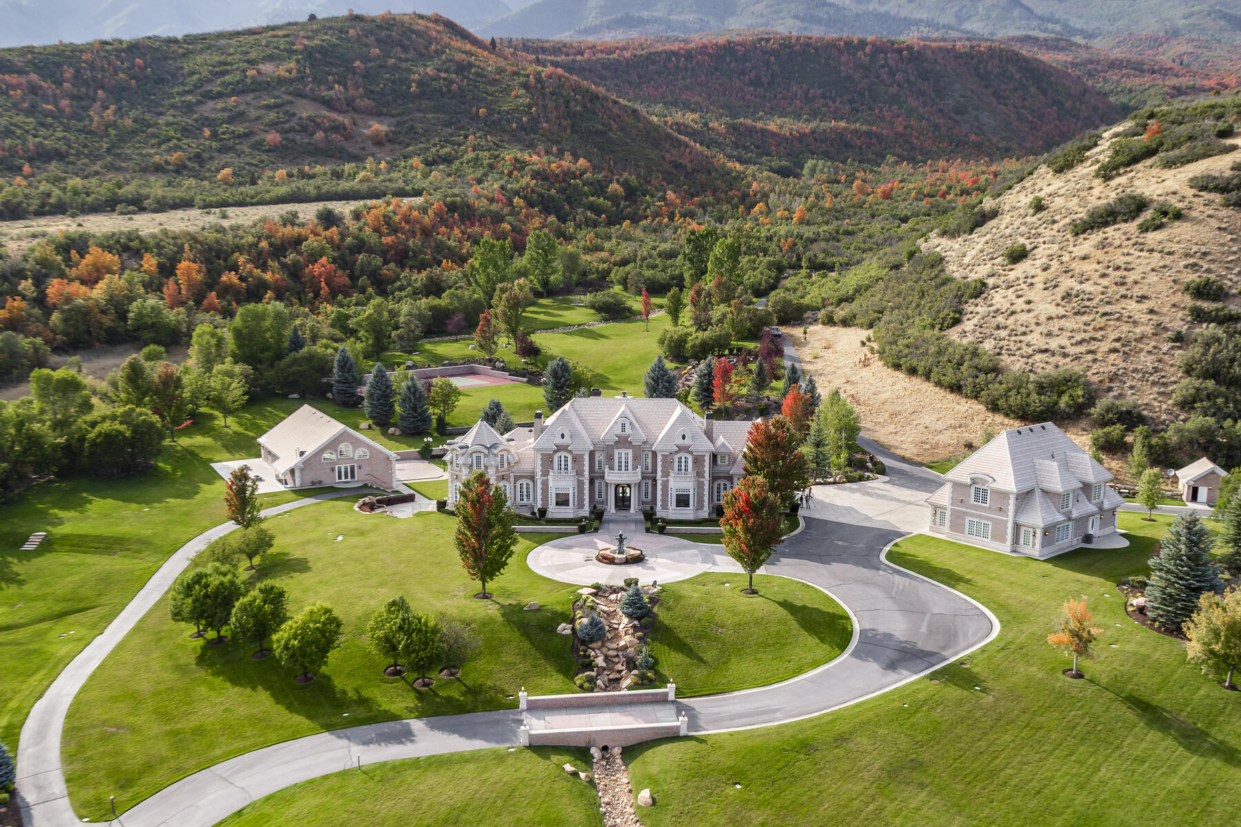 Property for Sale at Hobble Creek Ranch—Luxury Estate on 3,387 Acres 533 N Left Fork Hobble Creek Cyn Springville, Utah 84663 United States