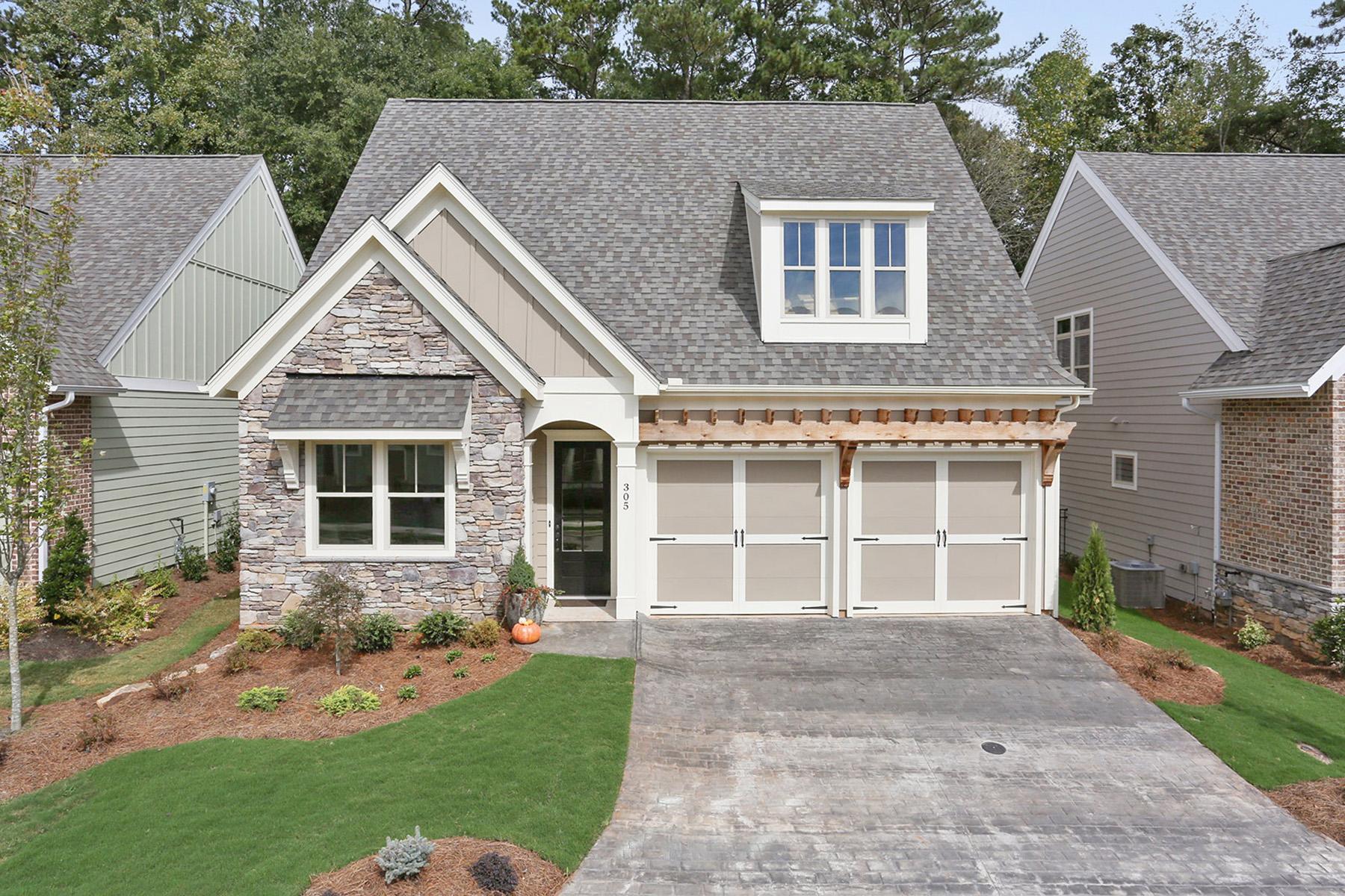 Single Family Homes por un Venta en Luxury Active Adult Community 200 Foxtail Road, Woodstock, Georgia 30188 Estados Unidos