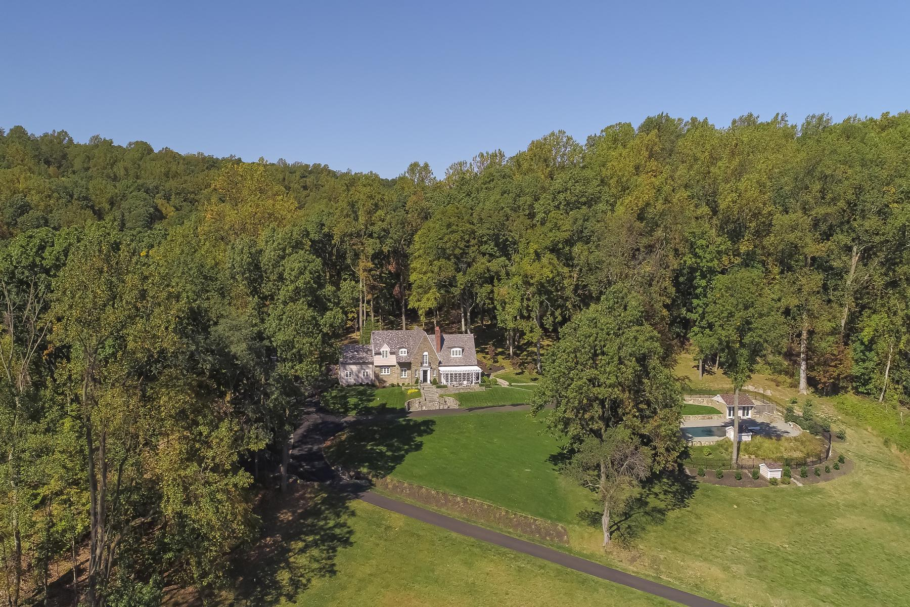 Single Family Homes للـ Sale في Breathtaking Panoramic Views 419 Mt Kemble Ave, Morris Township, New Jersey 07960 United States