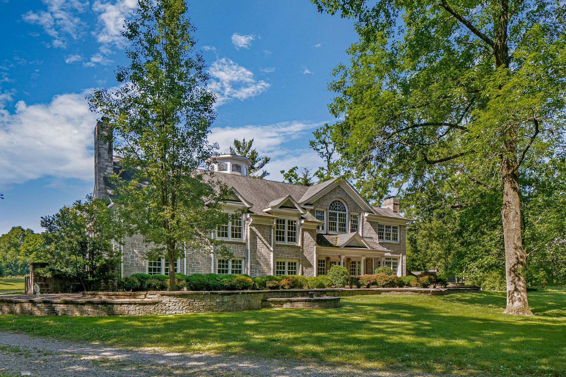 Single Family Homes for Sale at Charming Custom Home 156 River Road, Franklin Township, New Jersey 08801 United States
