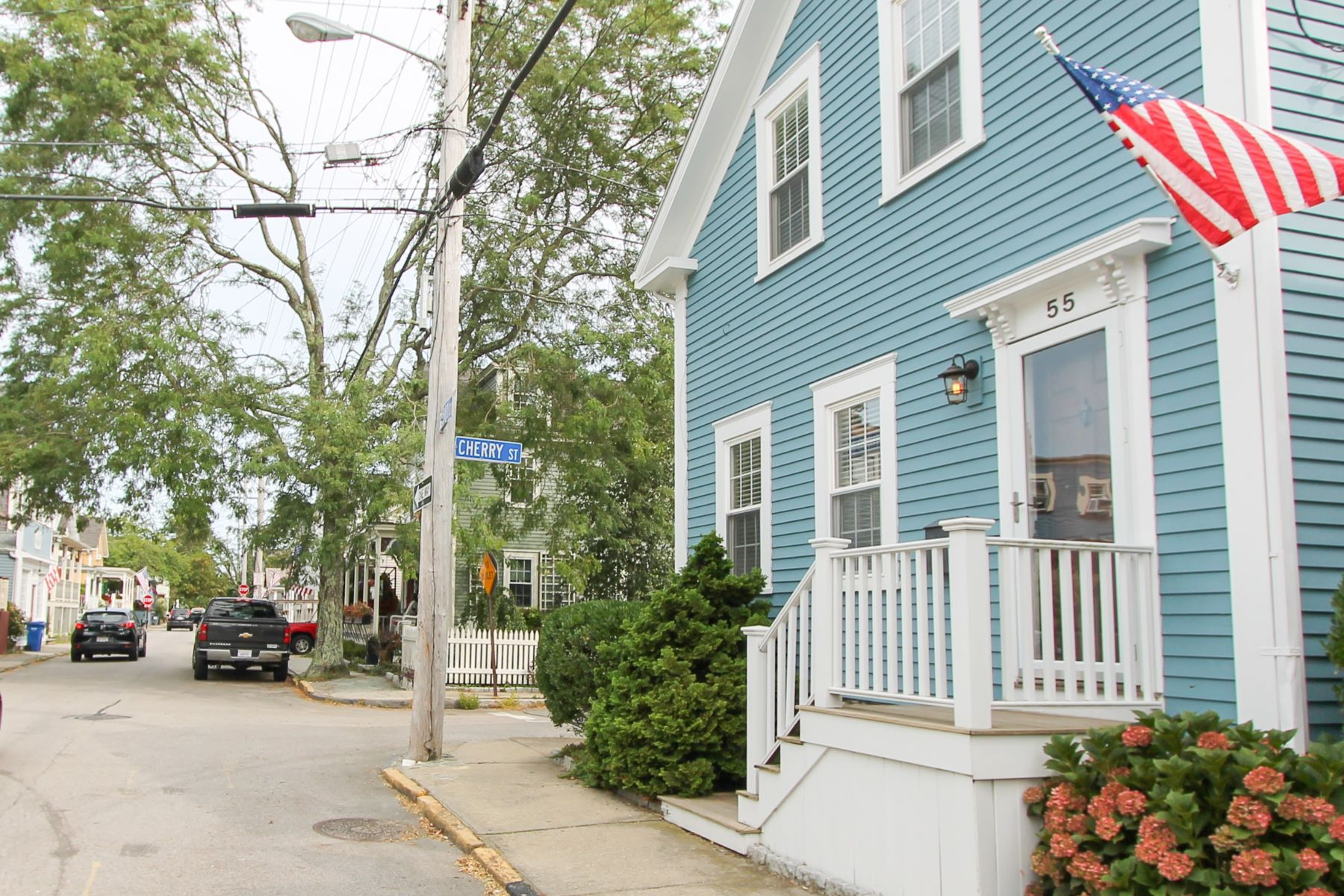 Single Family Homes for Sale at Dalton E. Young House 55 Third Street Newport, Rhode Island 02840 United States