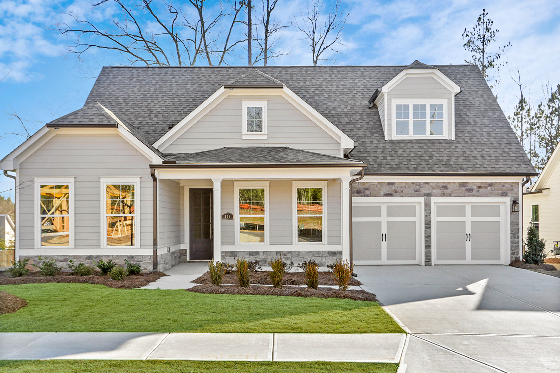 Single Family Homes por un Venta en Carefree Living- Welcome To The New Retreat At Oak Grove 106 Oakdale Woods Lane, Acworth, Georgia 30102 Estados Unidos