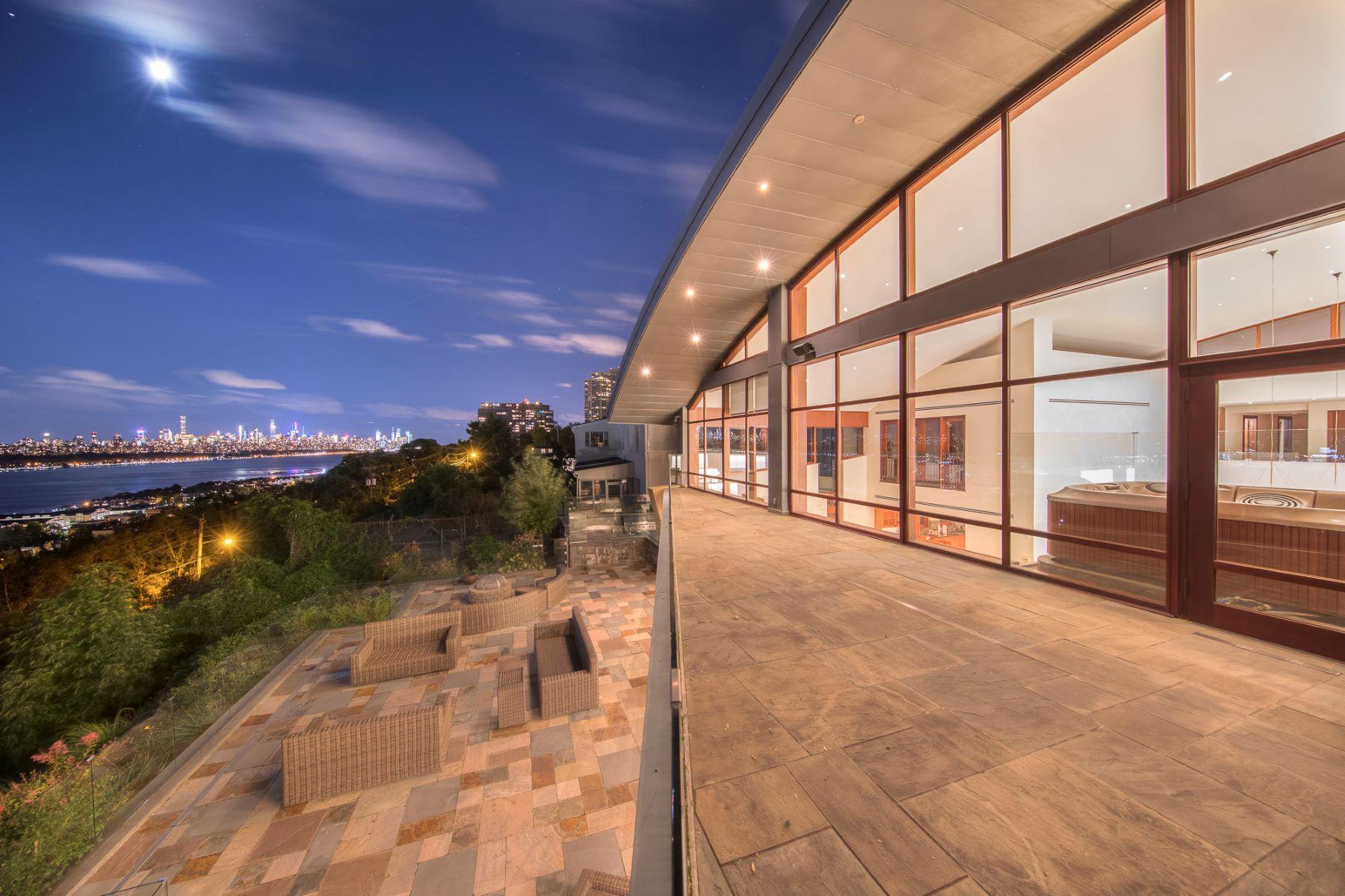 Single Family Homes pour l Vente à Masterpiece 1040 Arcadian Way, Fort Lee, New Jersey 07024 États-Unis