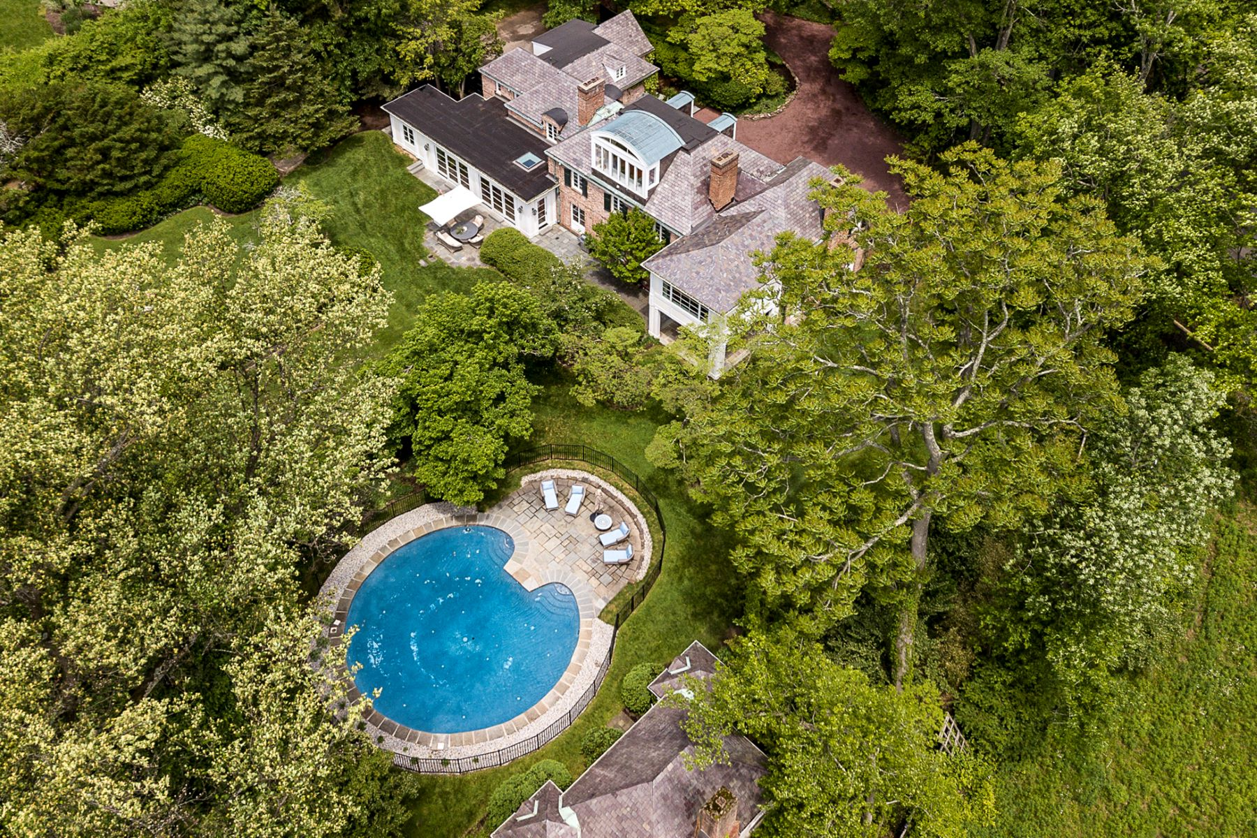 Single Family Homes for Sale at Classic Form, Modern Function, Near-Town Locale 20 Elm Road, Princeton, New Jersey 08540 United States