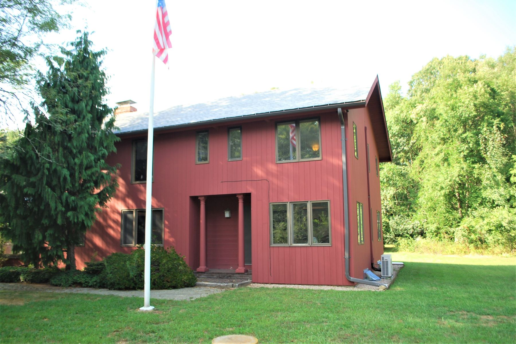 Single Family Homes for Sale at Private Home on Six Acres 485 Exeter Road North Kingstown, Rhode Island 02852 United States