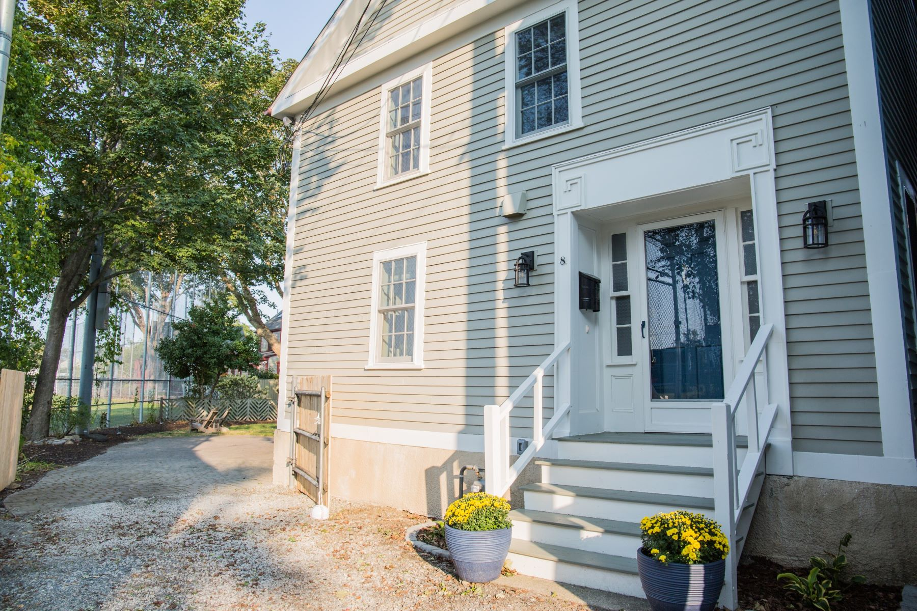 Single Family Homes for Sale at Newport Gem 8 Cozzens Court Newport, Rhode Island 0240 United States