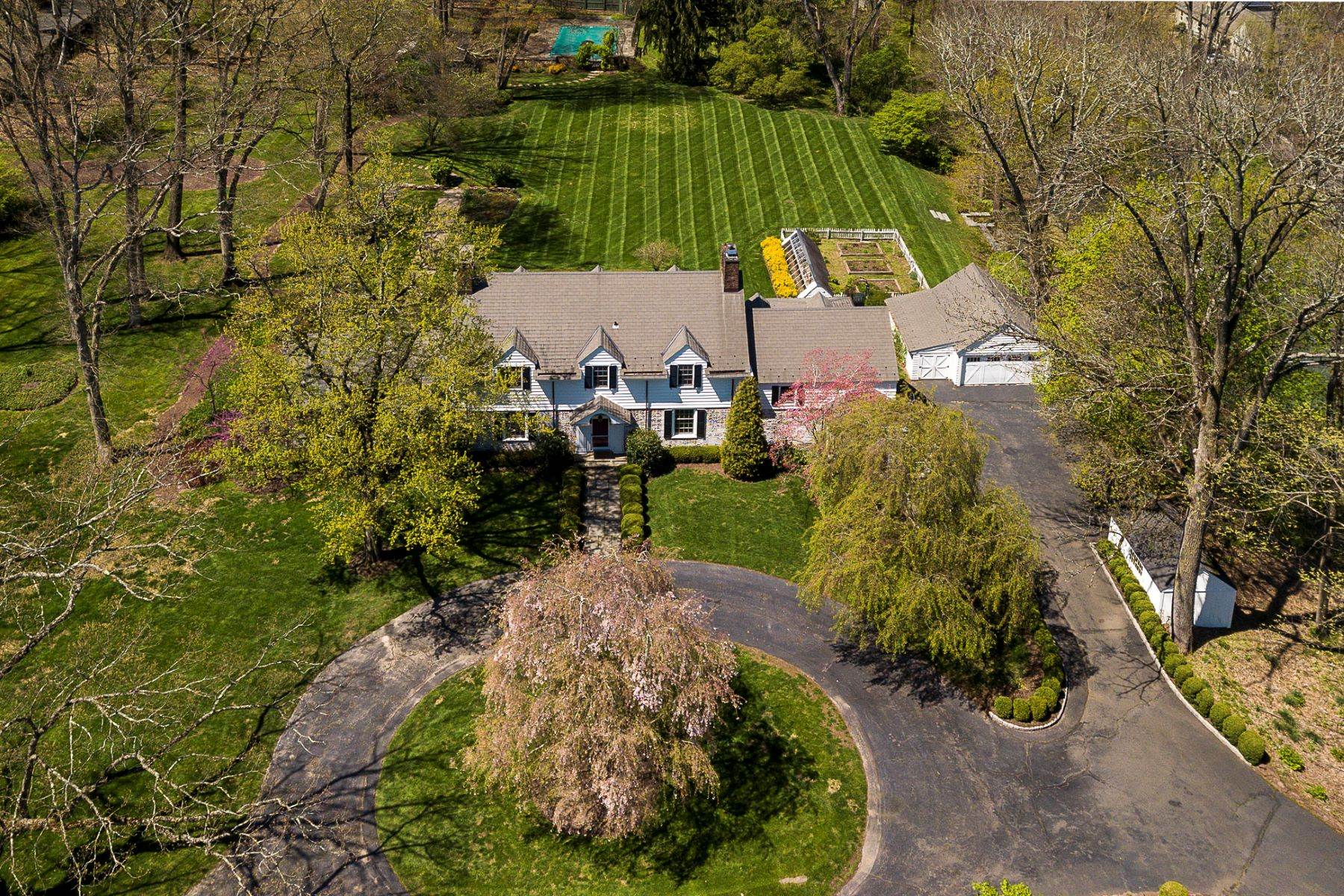 Single Family Homes for Sale at From the Train to Tranquility in Under 6 Miles 75 North Road, Princeton, New Jersey 08540 United States
