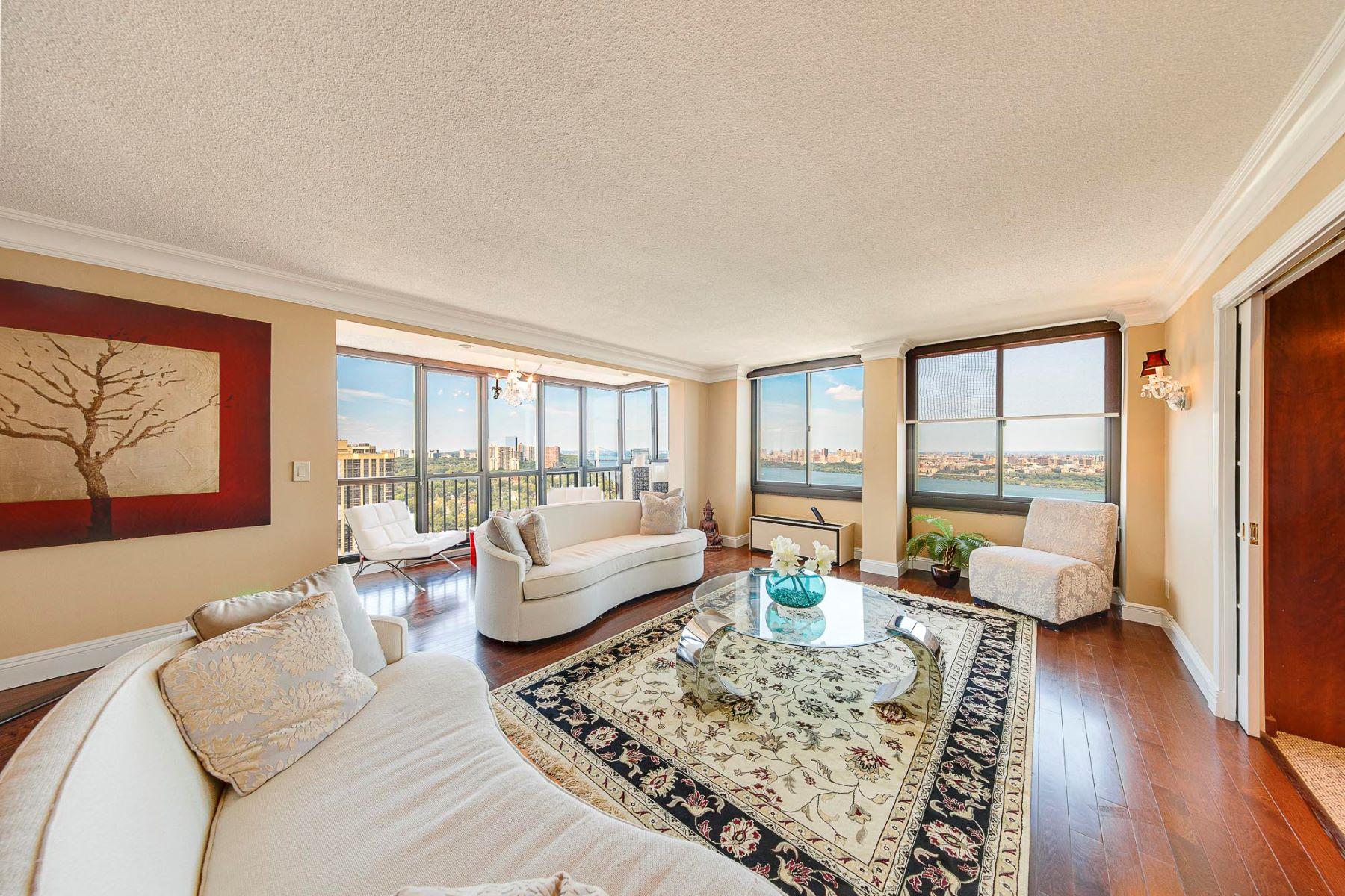 Condominiums للـ Sale في Fabulous Views 200 Winston Dr 2608, Cliffside Park, New Jersey 07010 United States