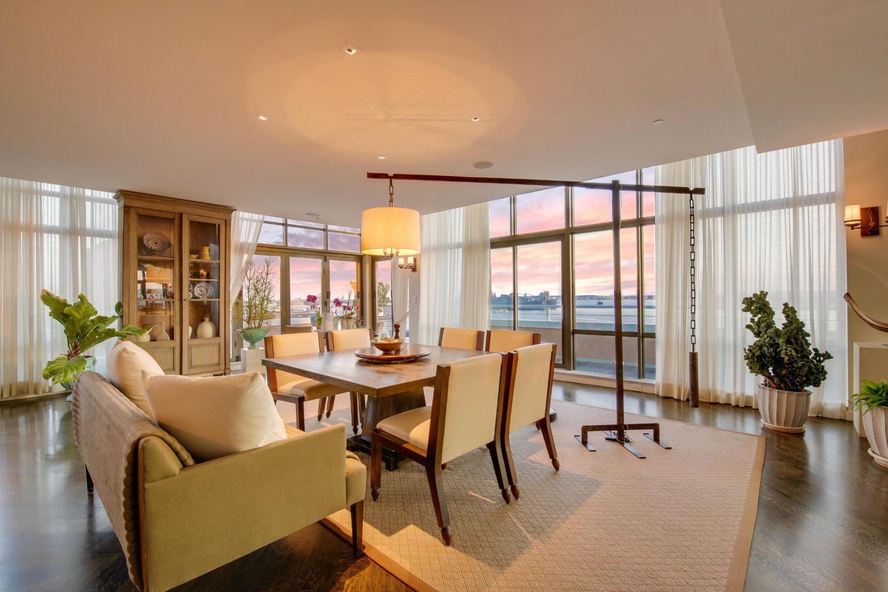 Condominiums için Satış at Waterfront Penthouse in Canton Cove 2901 Boston Street #610, Baltimore, Maryland 21224 Amerika Birleşik Devletleri