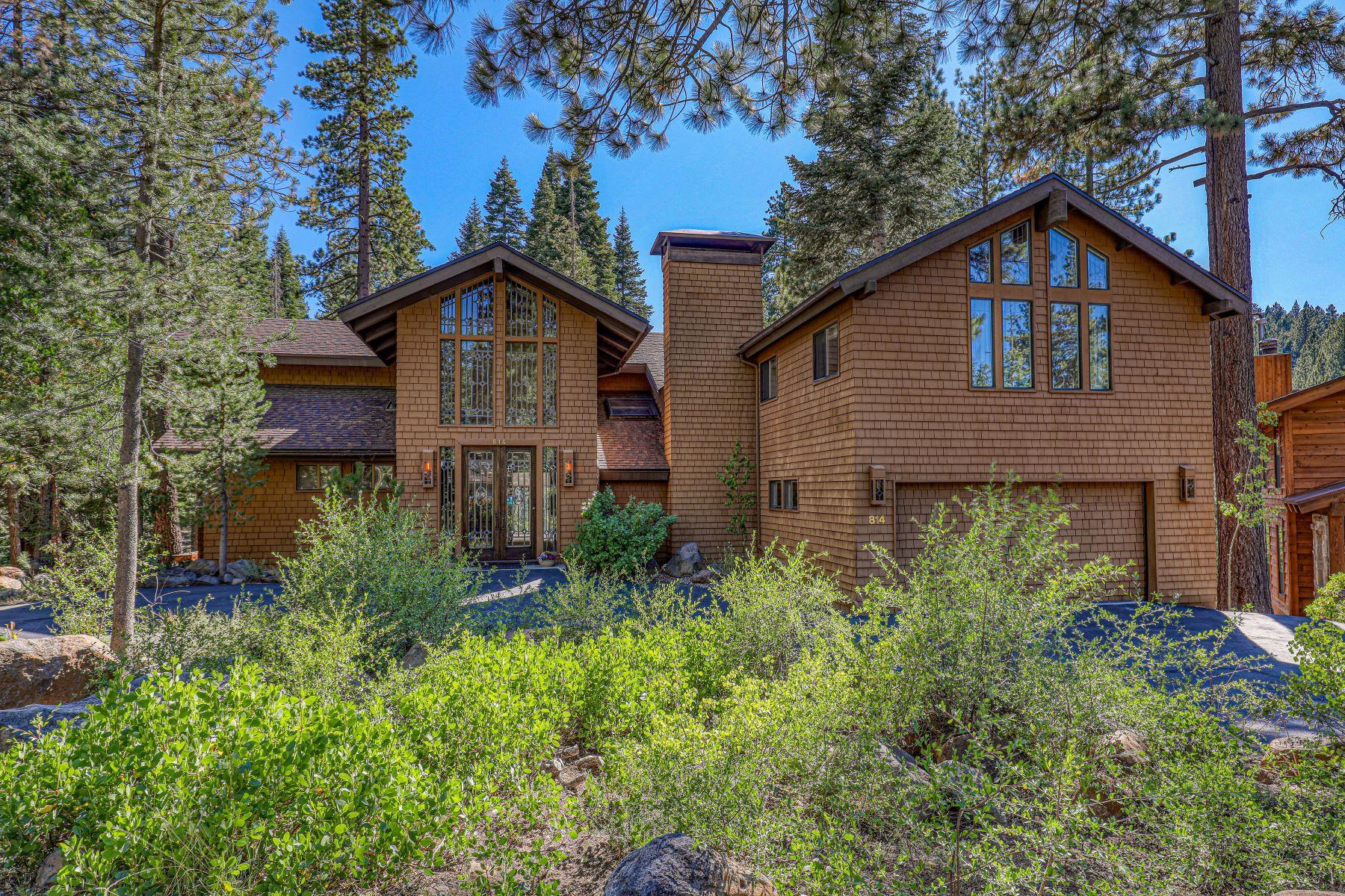 Single Family Homes 为 销售 在 Northstar Creekside Home 814 Beaver Pond 特拉基, 加利福尼亚州 96161 美国