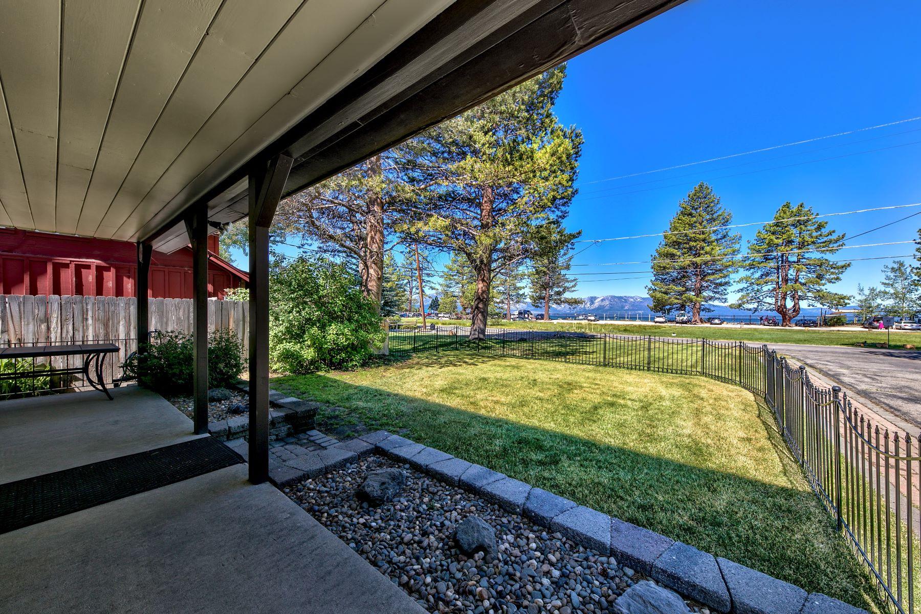 Additional photo for property listing at Lakefront Property 4068/4067 Sunrise Lane South Lake Tahoe, California 96150 United States