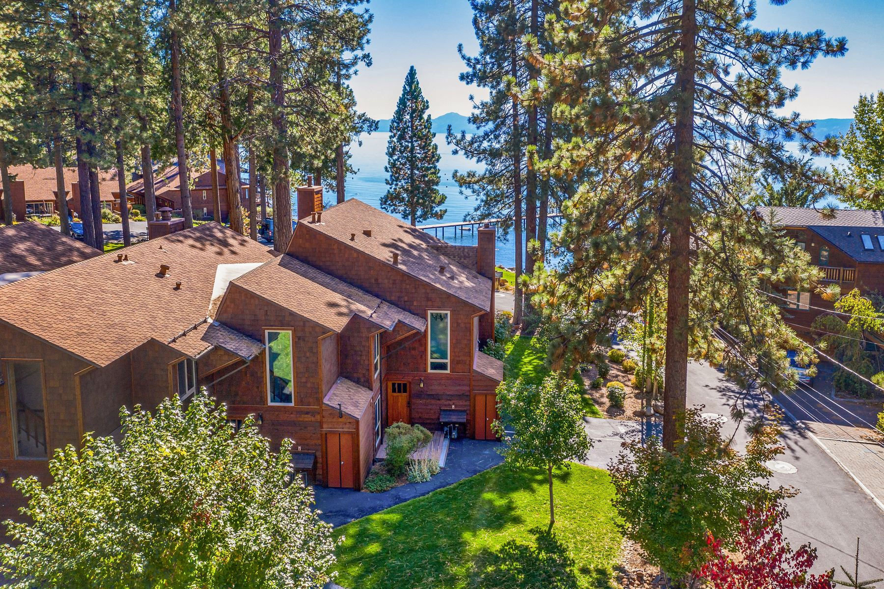 Property for Active at Stunning Lake Views in Brockway Shores 144 Chipmunk Street #3 Kings Beach, California 96143 United States