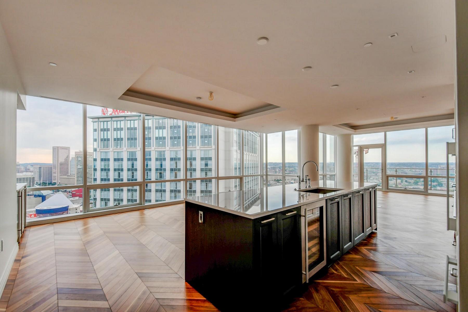 Condominiums للـ Sale في Four Seasons Residences 300 International Drive #2602, Baltimore, Maryland 21202 United States
