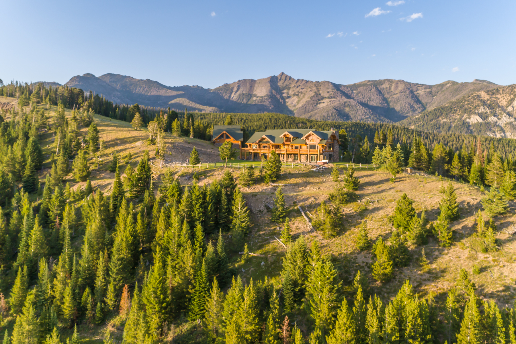 Single Family Homes for Sale at Montana De Paz 1320 Old Toby Road Big Sky, Montana 59716 United States