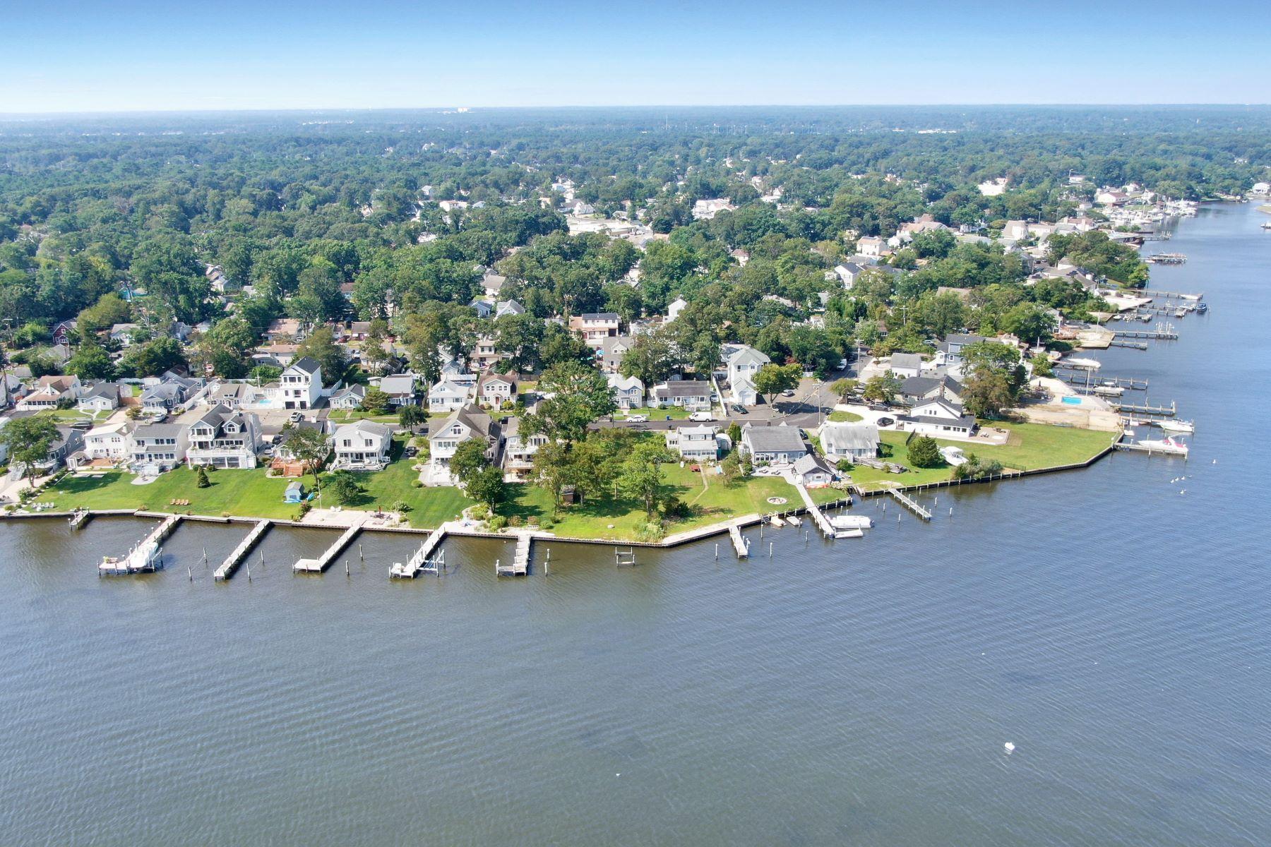 Land für Verkauf beim Breathtaking Open Waterfront Lot 45 Metedeconk Road, Brick, New Jersey 08723 Vereinigte Staaten