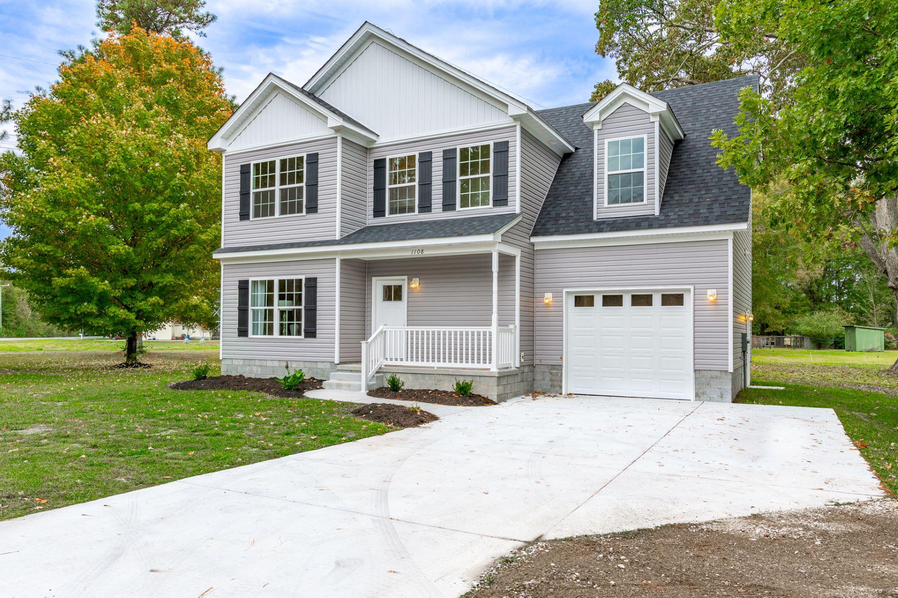 Single Family Homes för Försäljning vid Crestwood Lot 2 Great Bridge Blvd, Chesapeake, Virginia 23320 Förenta staterna