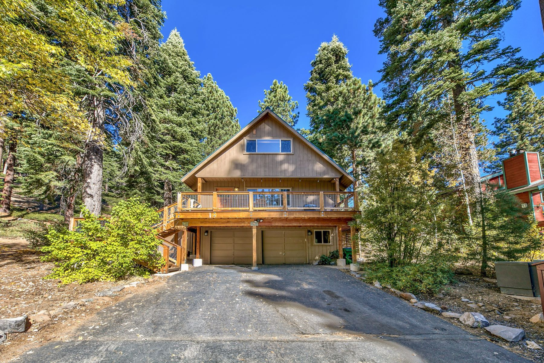 Single Family Homes for Active at Charming Tahoe Home 685 Bridger Ct Incline Village, Nevada 89451 United States