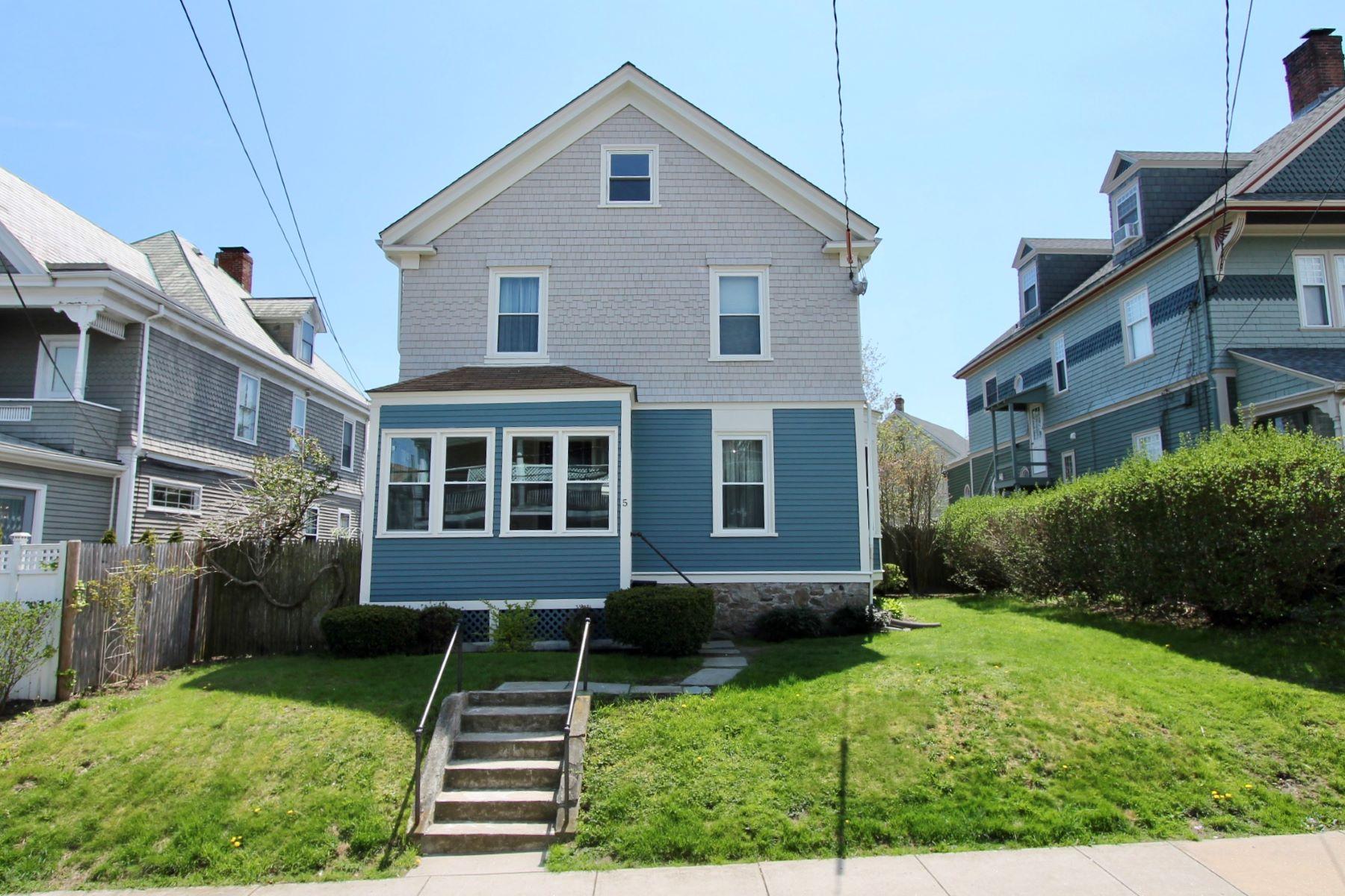 Single Family Homes 为 销售 在 North Broadway Gem 5 Bliss Road 纽波特, 罗得岛 02840 美国