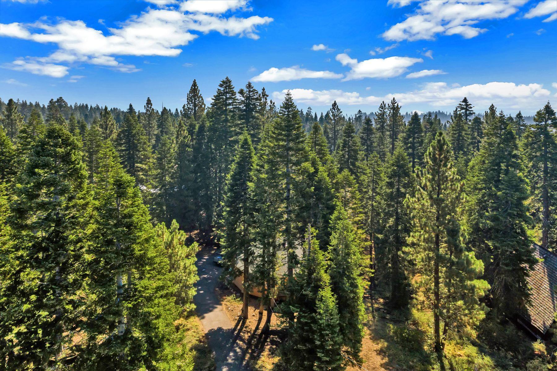 Single Family Homes por un Venta en Unique Cabin In The Woods 450 John Cain Tahoe City, California 96145 Estados Unidos