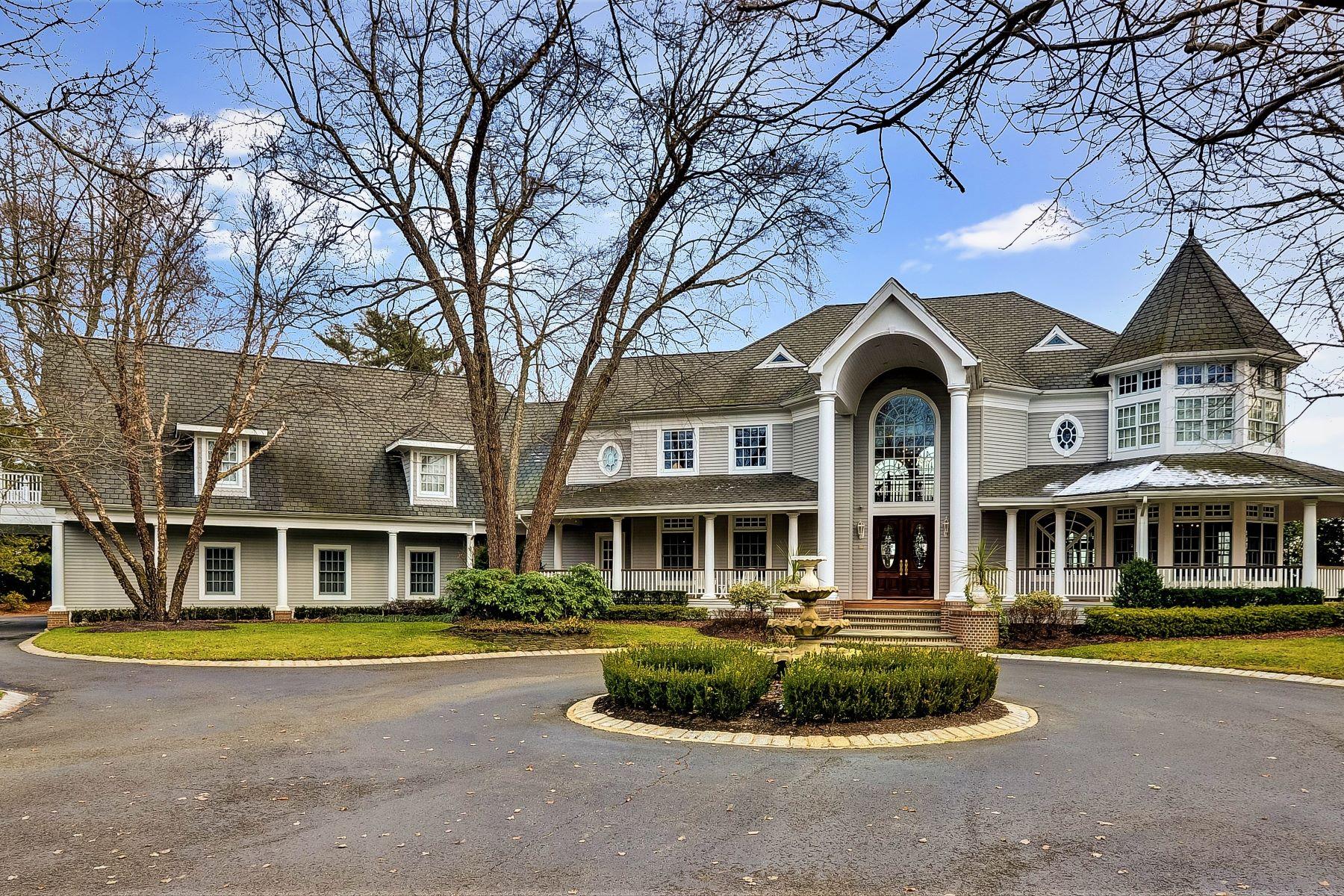 Single Family Homes por un Venta en Riverfront Estate 23 Blossom Cove Road, Middletown, Nueva Jersey 07701 Estados Unidos