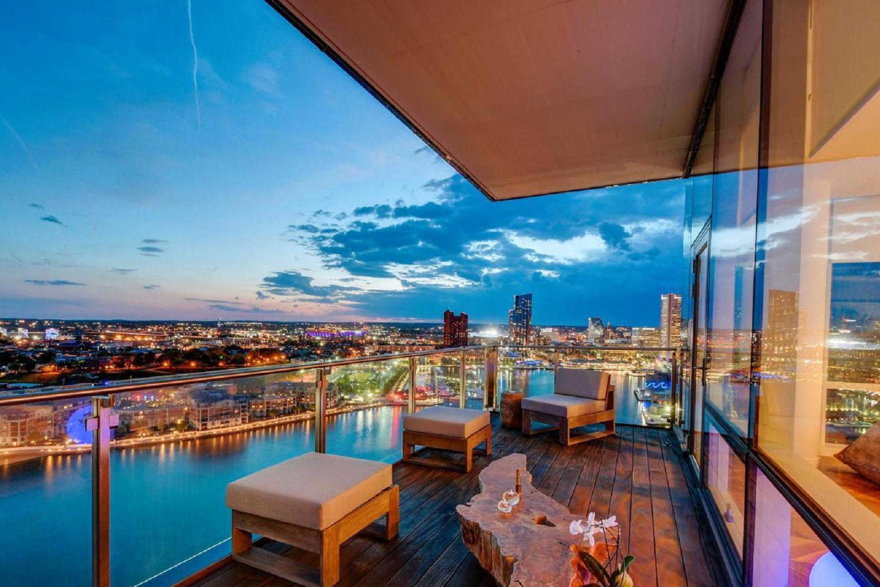 Condominiums للـ Sale في Four Seasons Residences Baltimore 300 International Drive #2301, Baltimore, Maryland 21202 United States