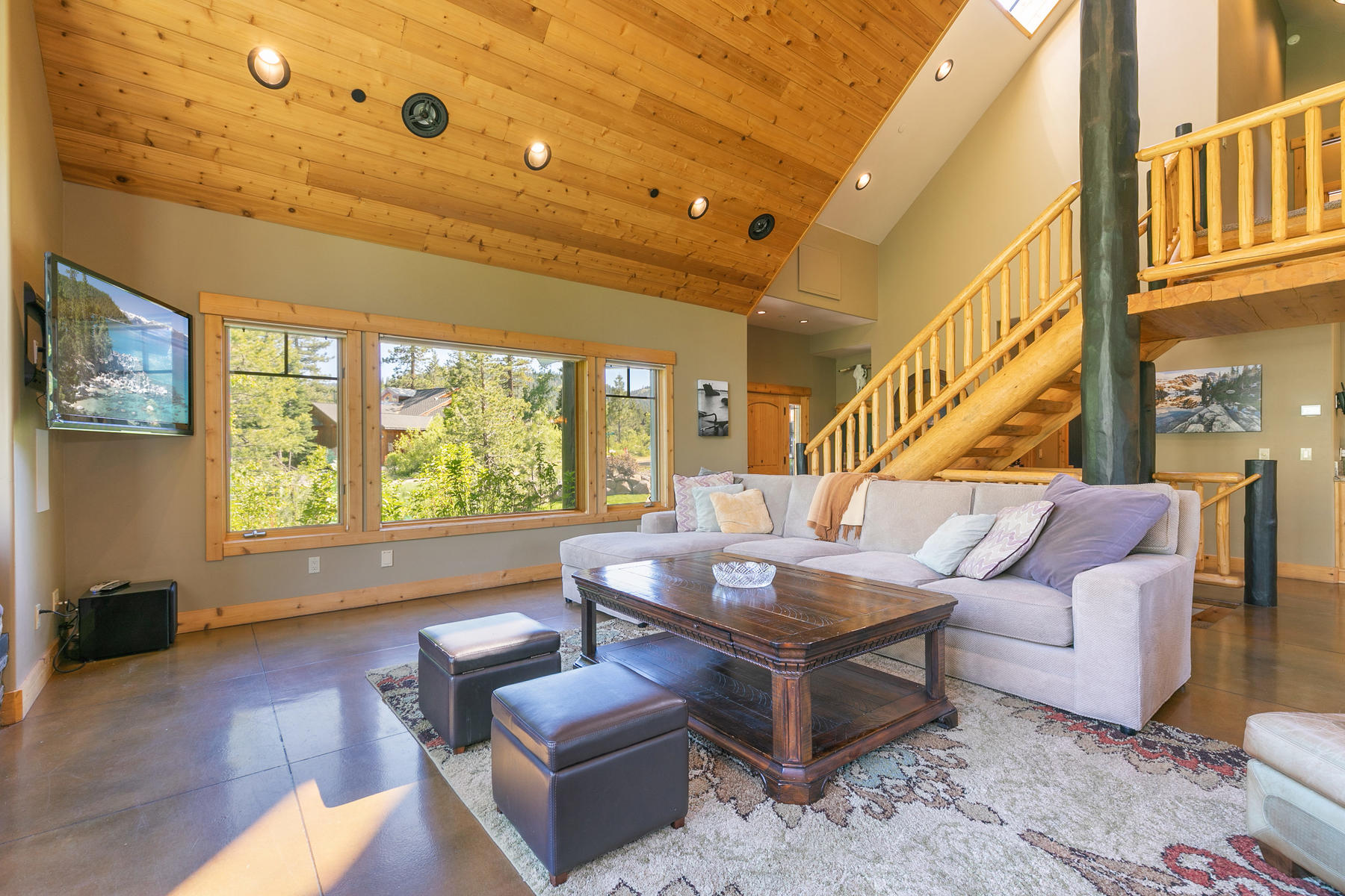 Additional photo for property listing at Stunning Views of Painted Rock 155 Painted Rock Court Olympic Valley, California 96146 United States