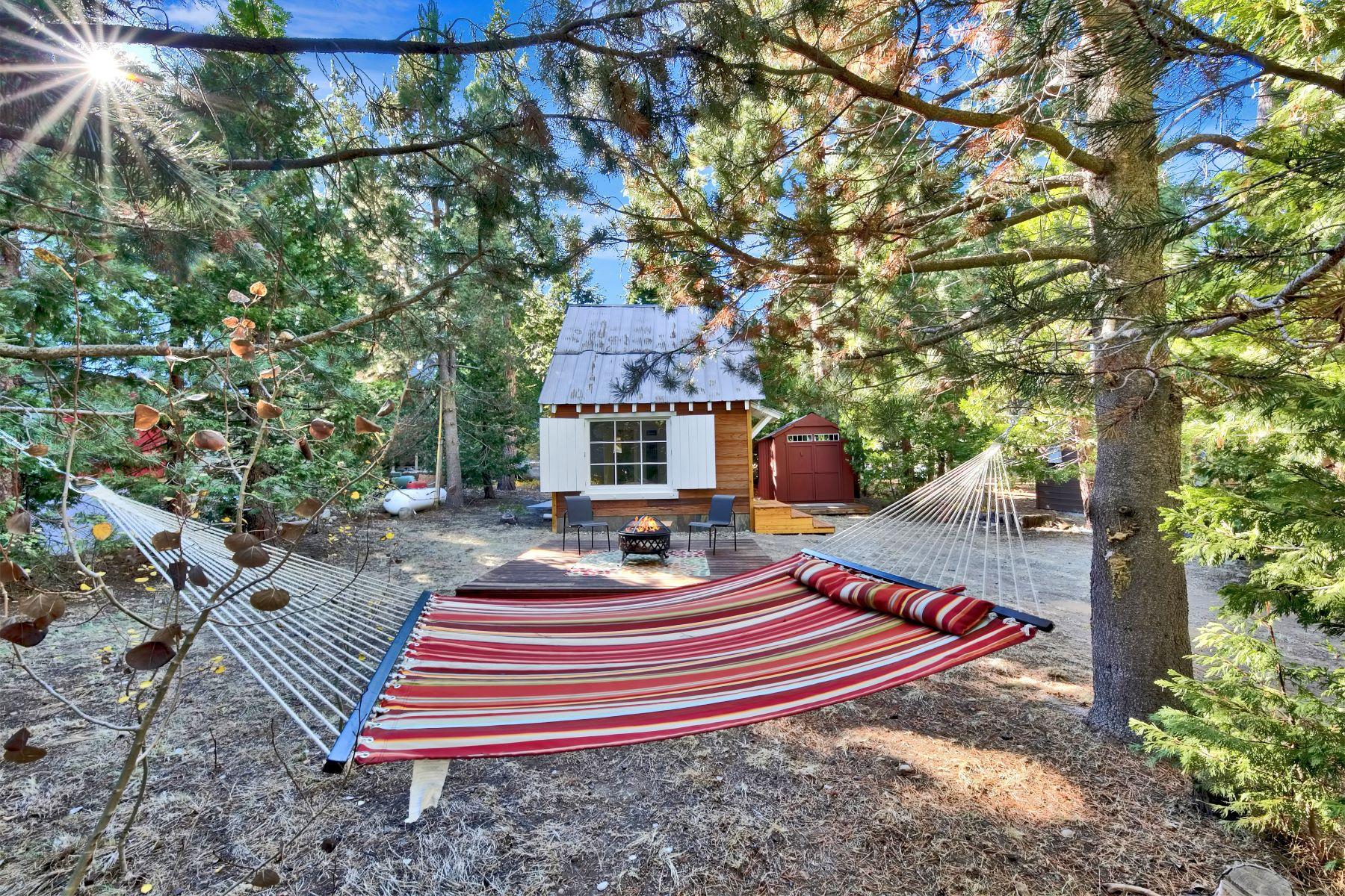 Single Family Homes 为 销售 在 Modern Tiny Home By Lake Tahoe 7052 8th Ave Tahoma, 加利福尼亚州 96142 美国