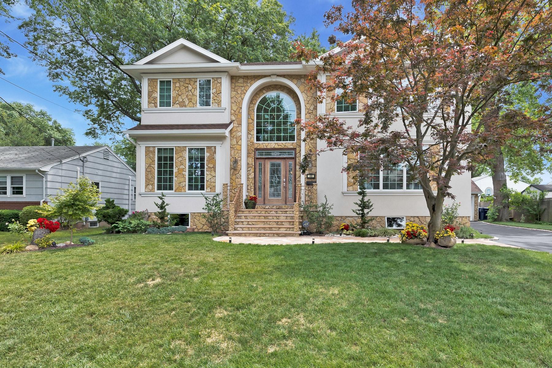 Single Family Homes للـ Sale في Custom Colonial 49 Nassau St, Clark, New Jersey 07066 United States