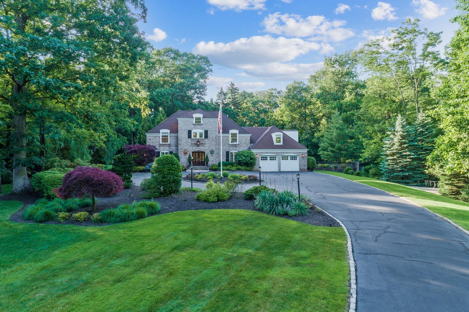 Single Family Homes للـ Sale في Elegant Perfection 254 Fells Road, Essex Fells, New Jersey 07021 United States