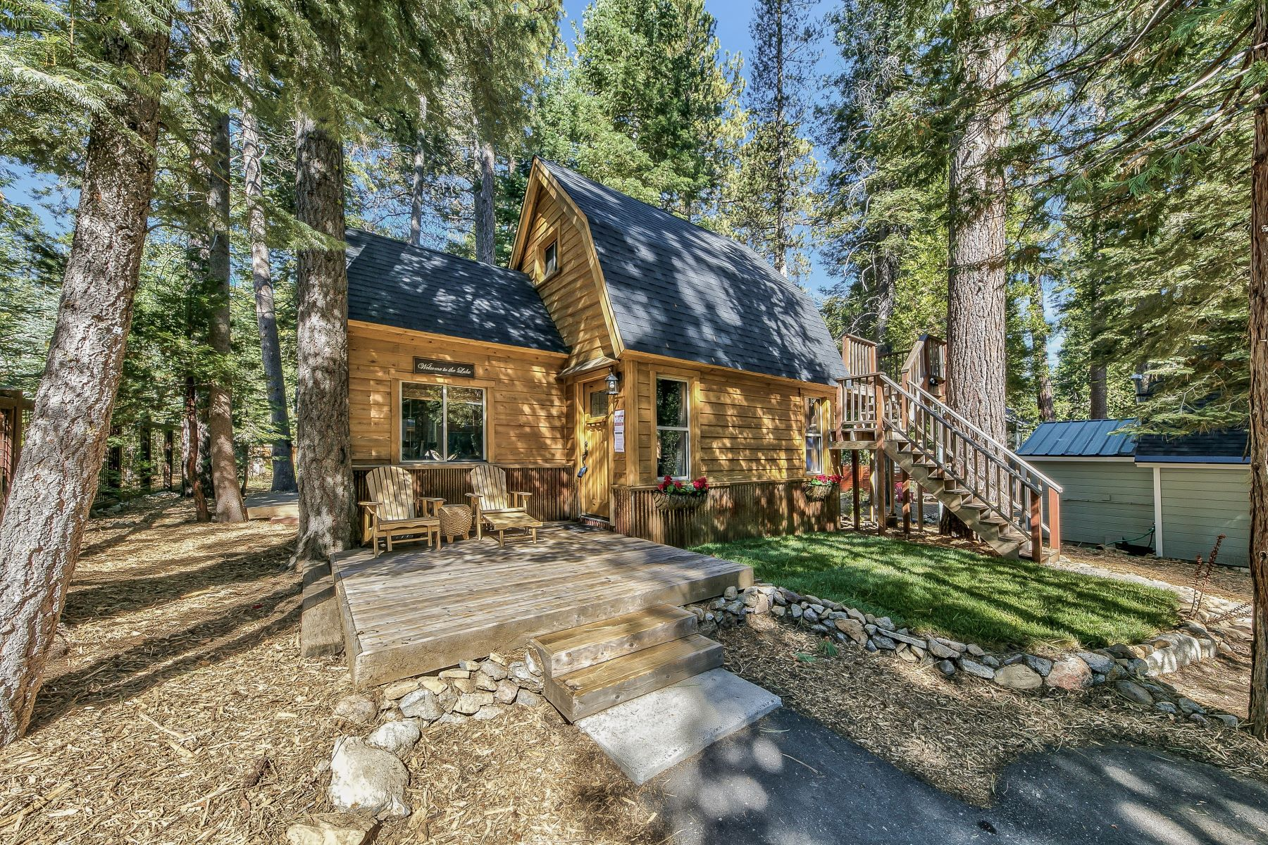 Single Family Homes for Active at Darling Old Tahoe Cabin 7246 6th Avenue Tahoma, California 96142 United States