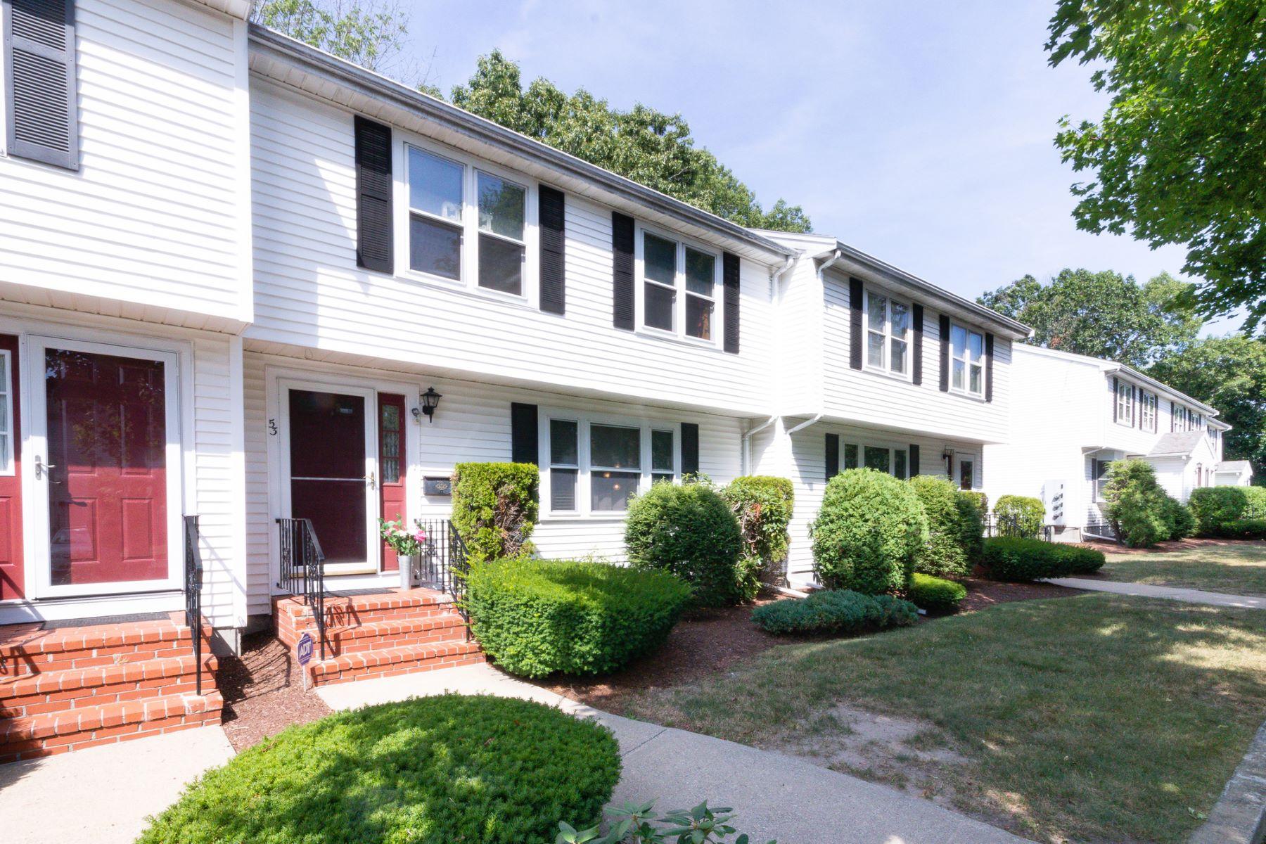 Condominiums 为 销售 在 53 Reservoir St, #53 布罗克顿, 马萨诸塞州 02301 美国