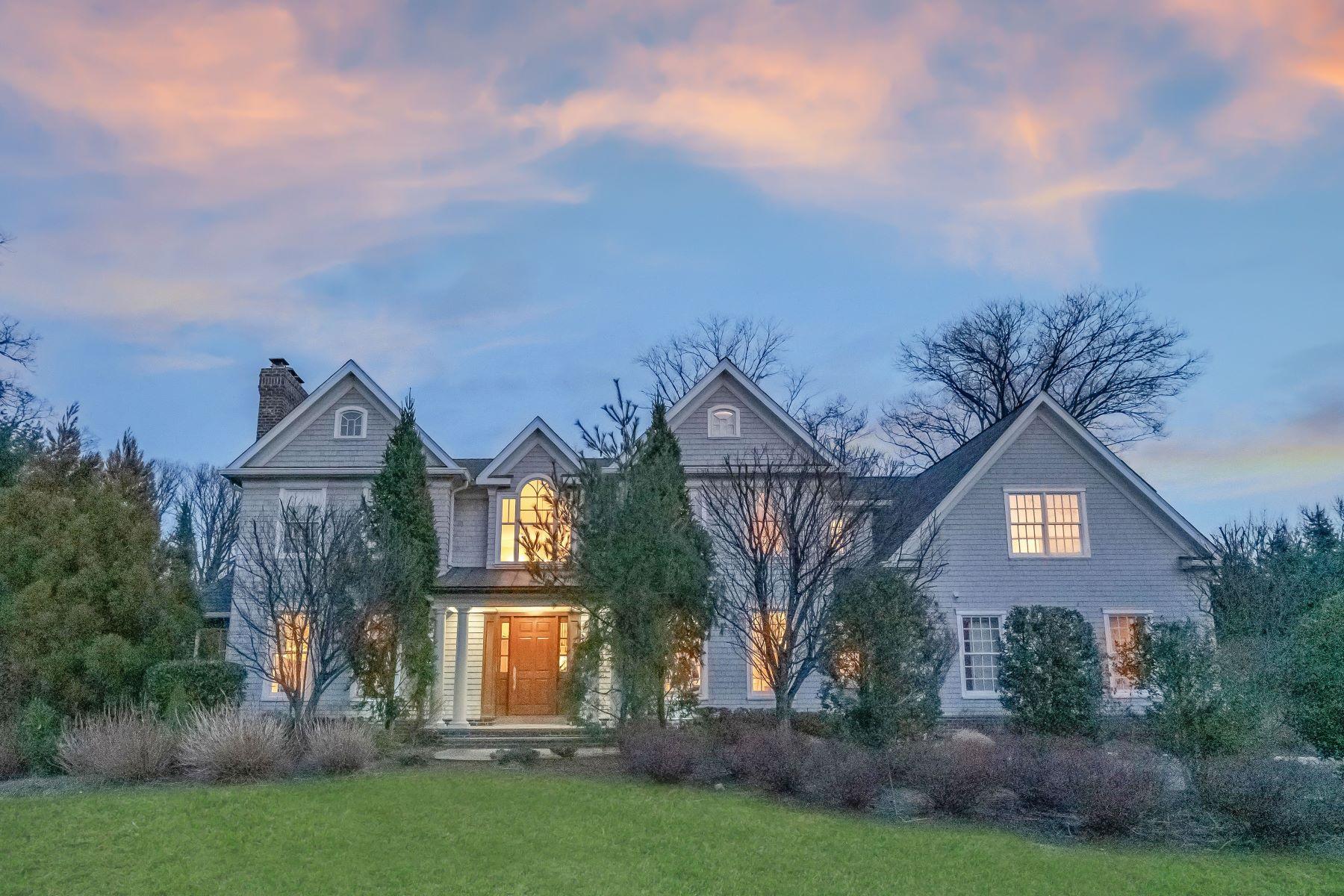 Single Family Homes للـ Sale في Hampton Style Colonial 53 Woodland St, Tenafly, New Jersey 07670 United States